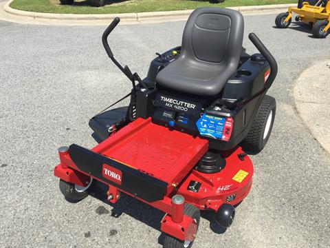 2017 Toro 42 in. (107 cm) TimeCutter MX4200 (74766) in Greenville, North Carolina