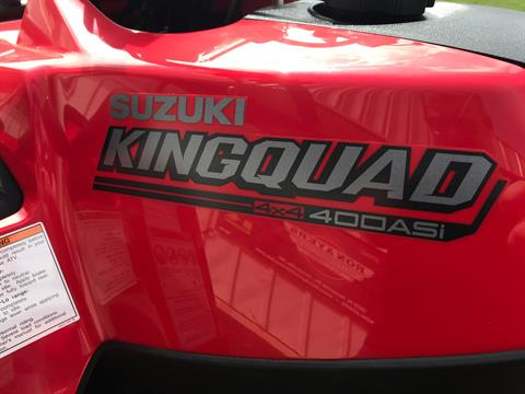 2021 Suzuki KingQuad 400ASi in Greenville, North Carolina - Photo 13