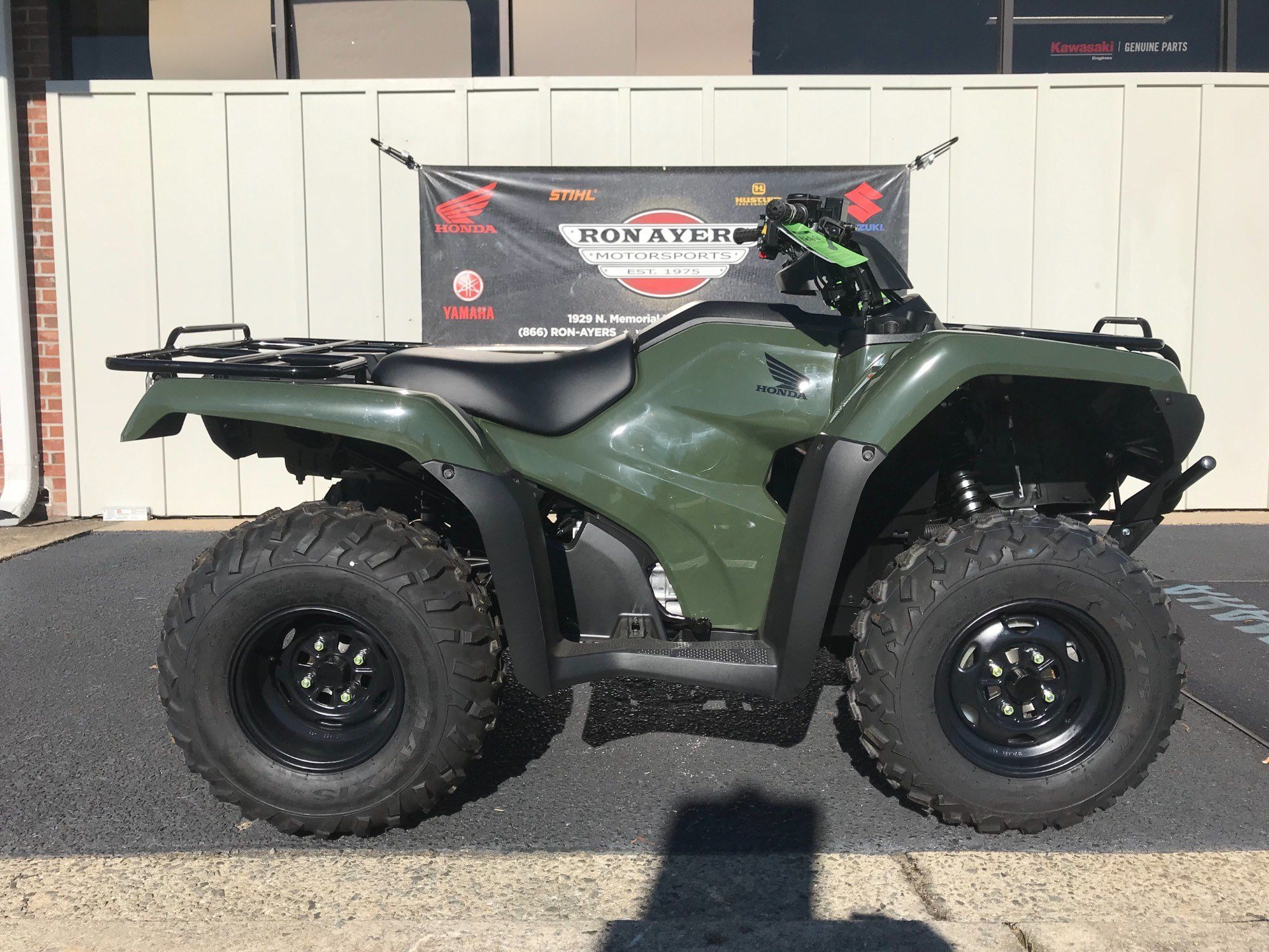 2019 Honda FourTrax Rancher 4x4 ES in Greenville, North Carolina