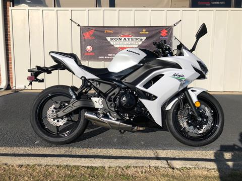2020 Kawasaki Ninja 650 in Greenville, North Carolina - Photo 1