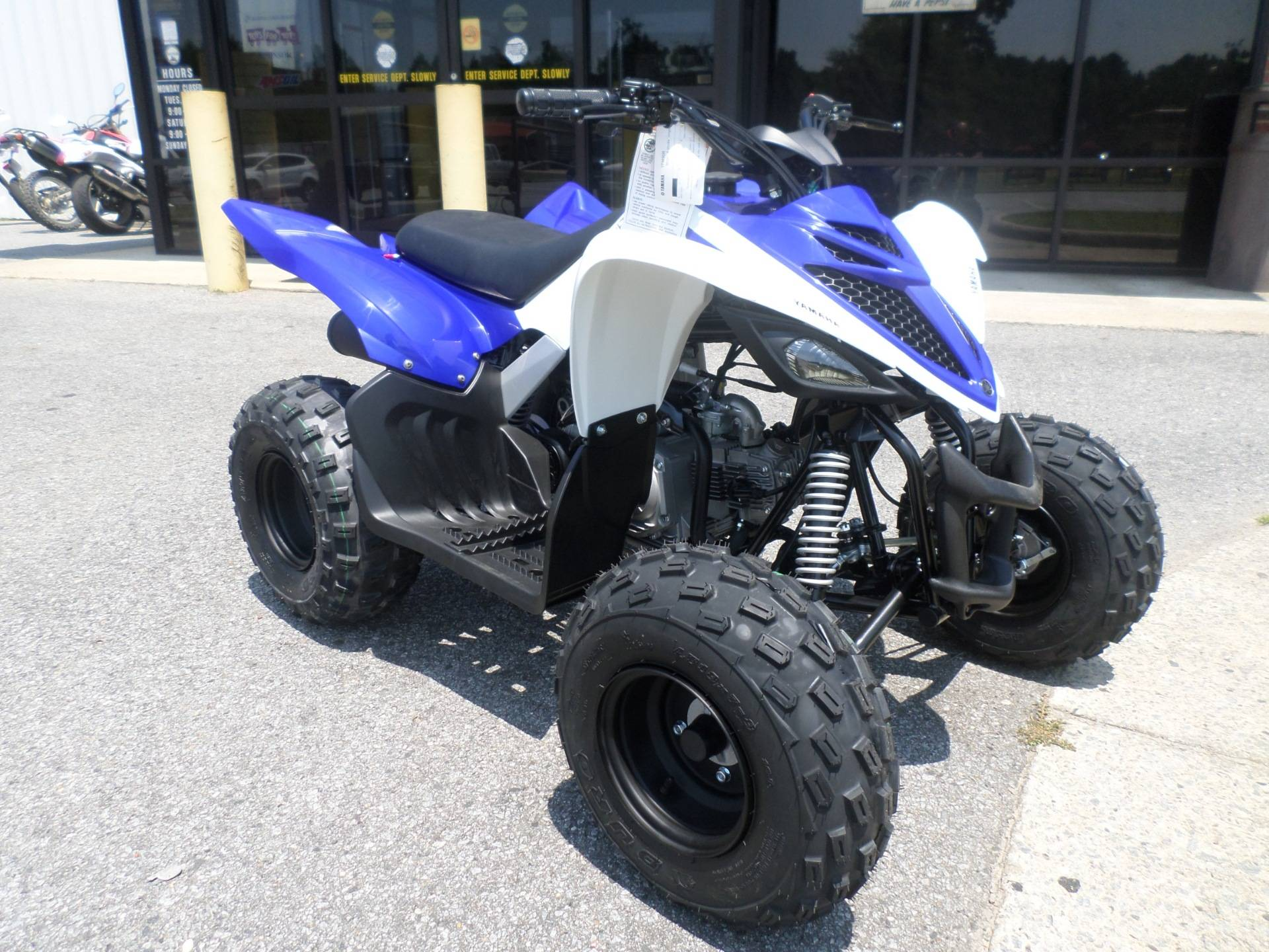 2018 Yamaha Raptor 90 in Greenville, North Carolina