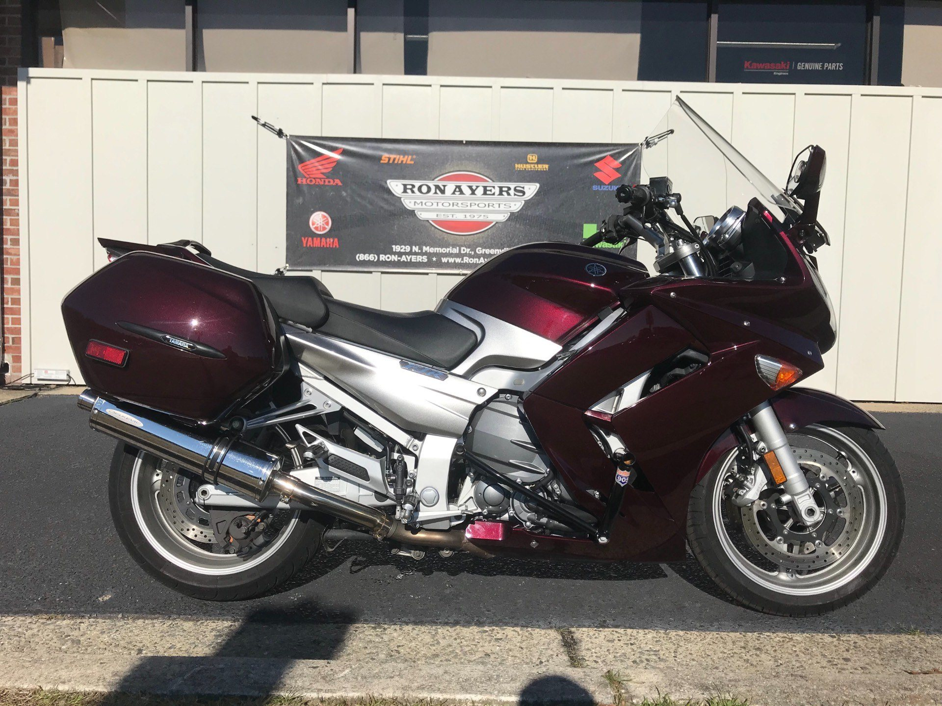 Used 2007 Yamaha Fjr 1300a Motorcycles In Greenville Nc Stock