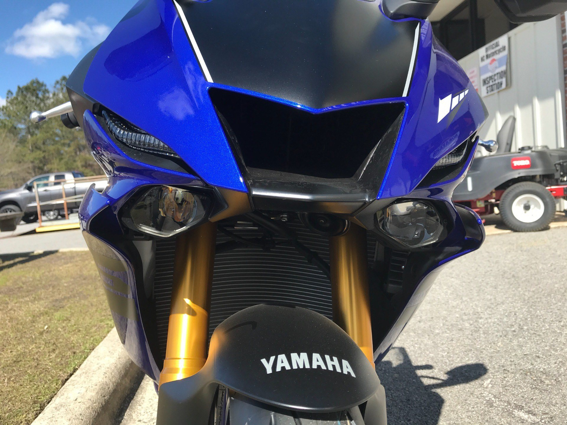2018 Yamaha YZF-R6 in Greenville, North Carolina