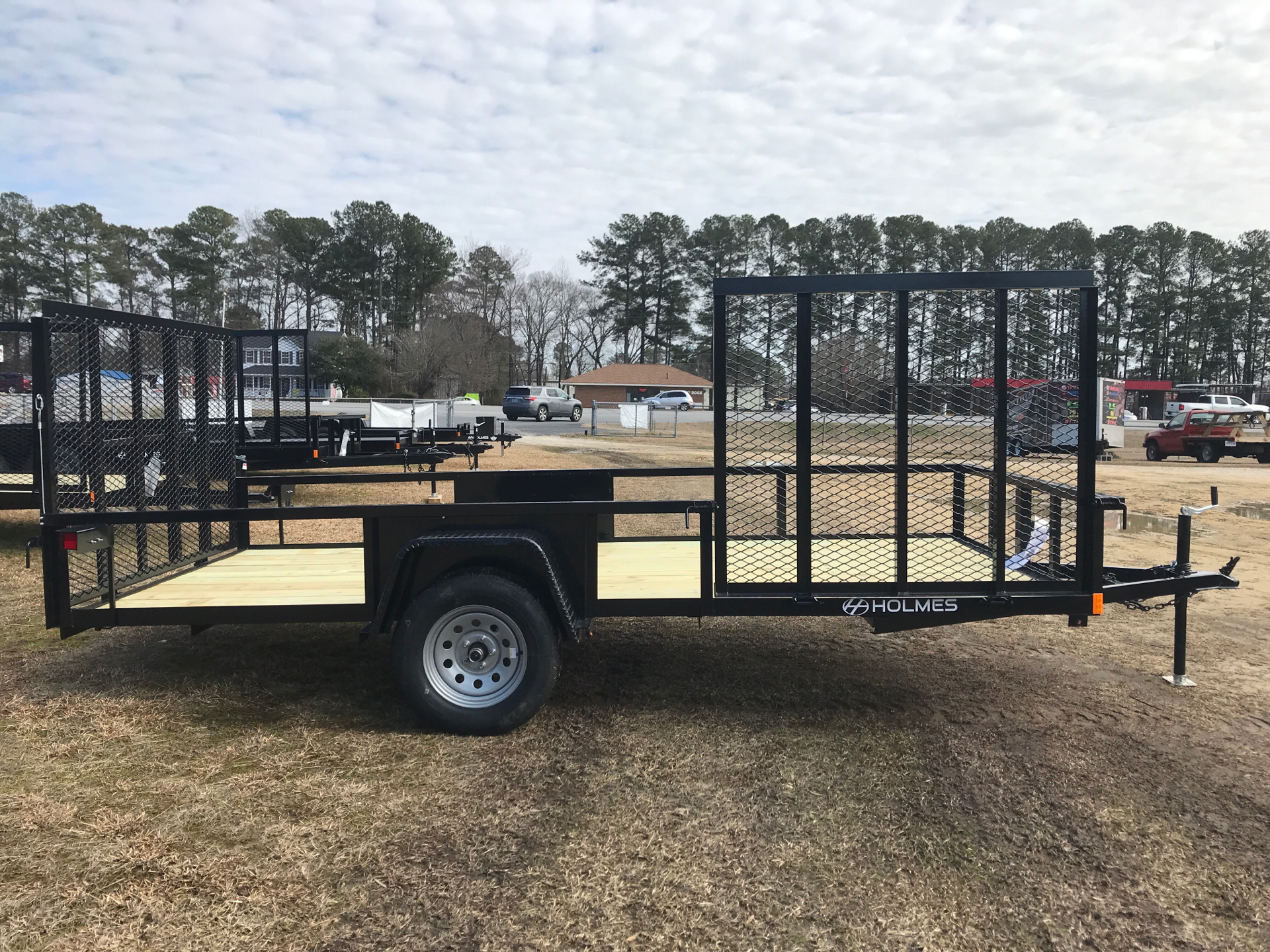 2021 Holmes 6.4 x 14 3.5k axle w/Side Gate in Greenville, North Carolina - Photo 2