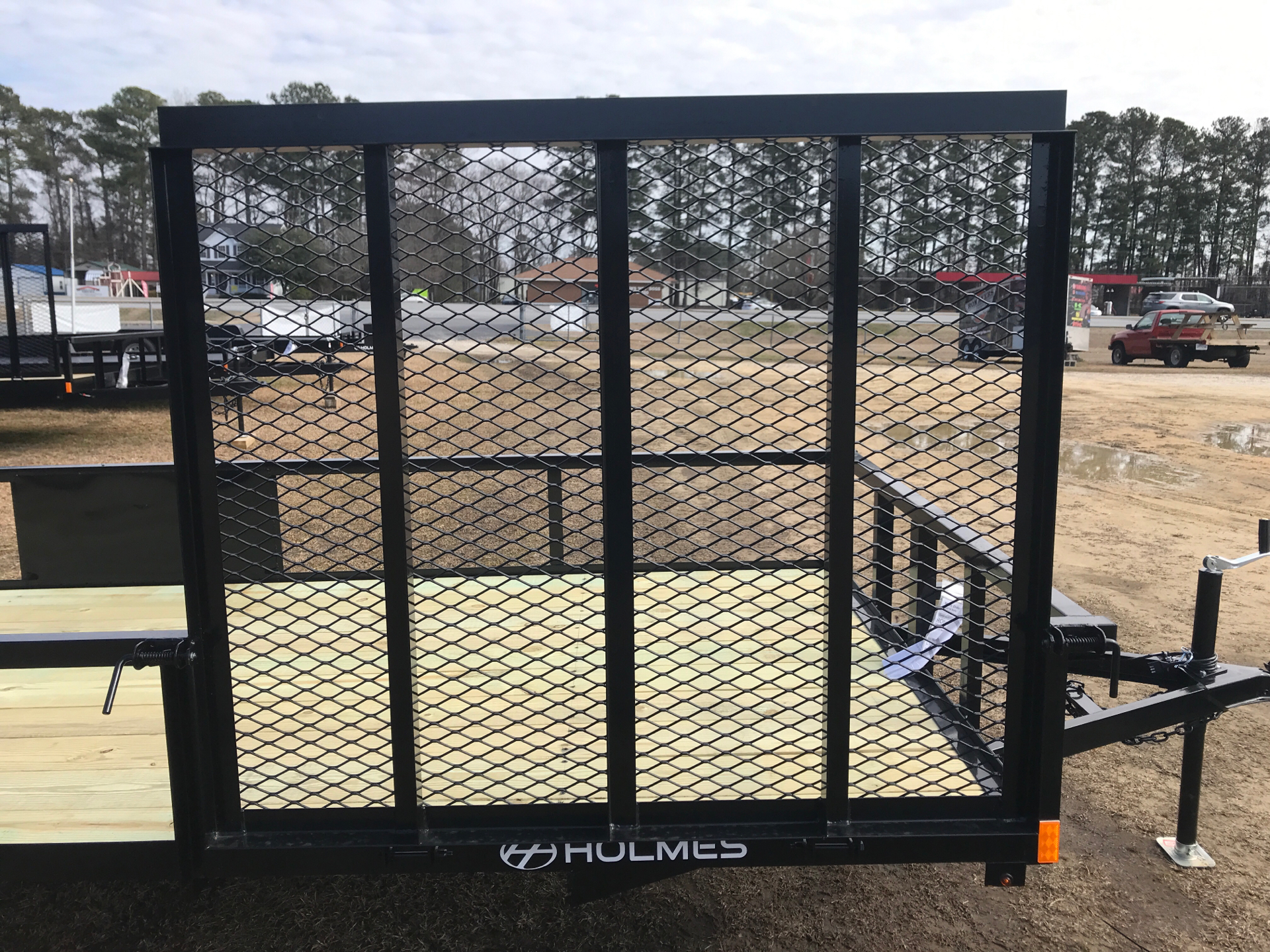 2021 Holmes 6.4 x 14 3.5k axle w/Side Gate in Greenville, North Carolina - Photo 3