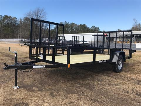 2021 Holmes 6.4 x 14 3.5k axle w/Side Gate in Greenville, North Carolina - Photo 1