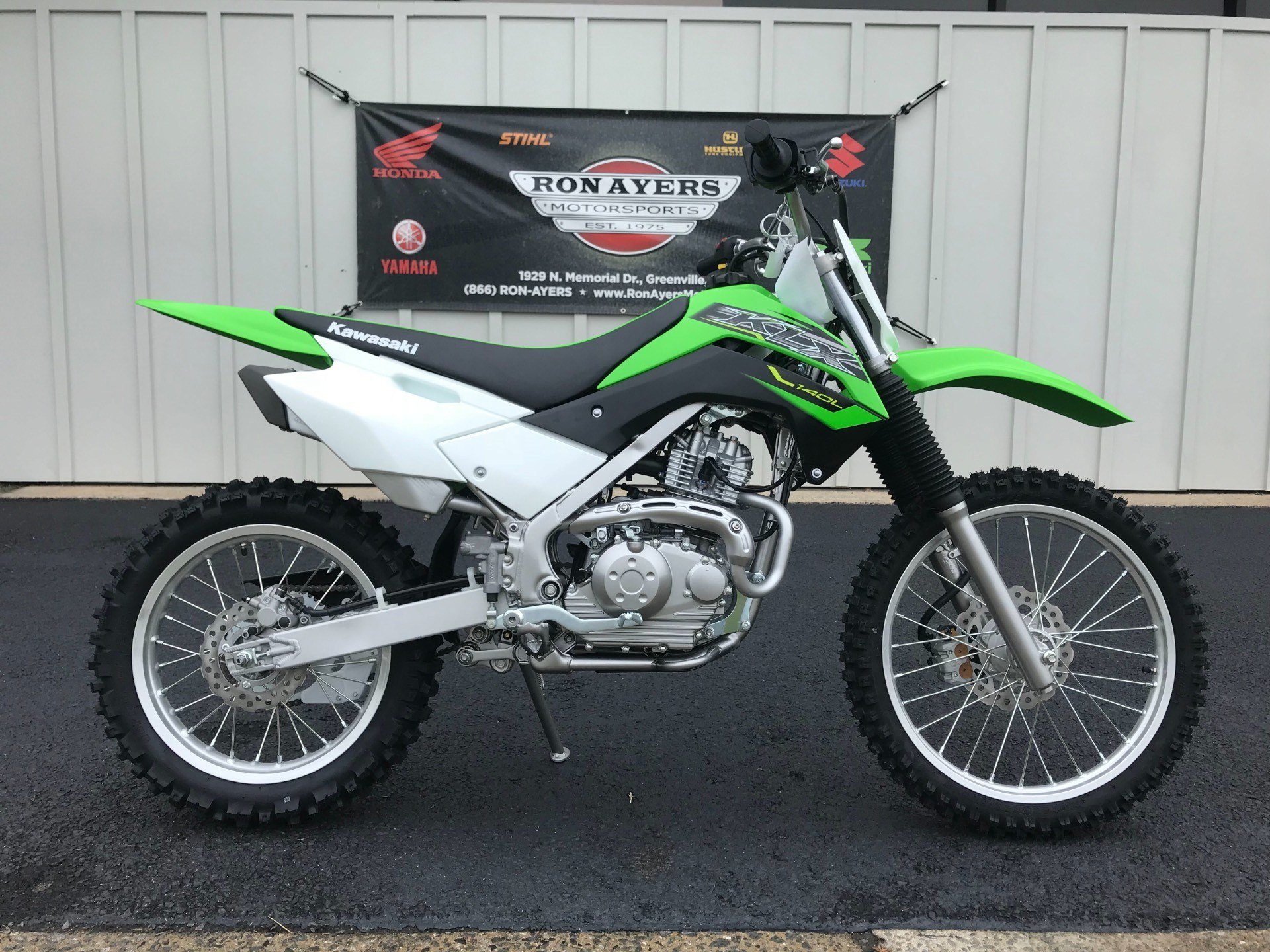 2019 Kawasaki KLX 140L in Greenville, North Carolina - Photo 1