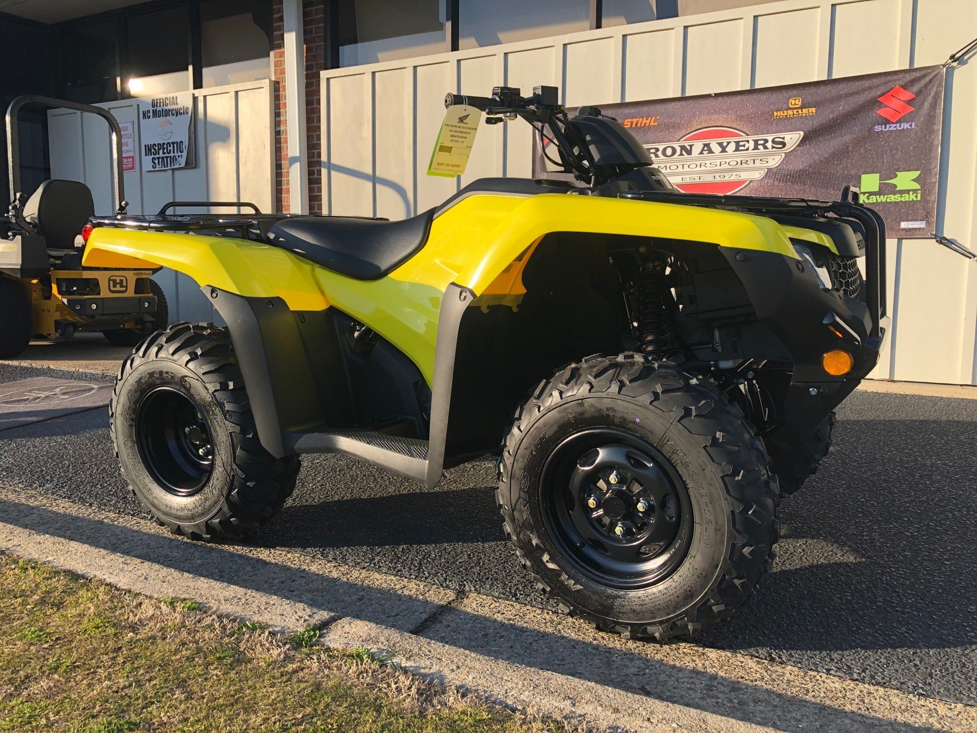 2020 Honda FourTrax Rancher 4x4 Automatic DCT EPS in Greenville, North Carolina - Photo 2