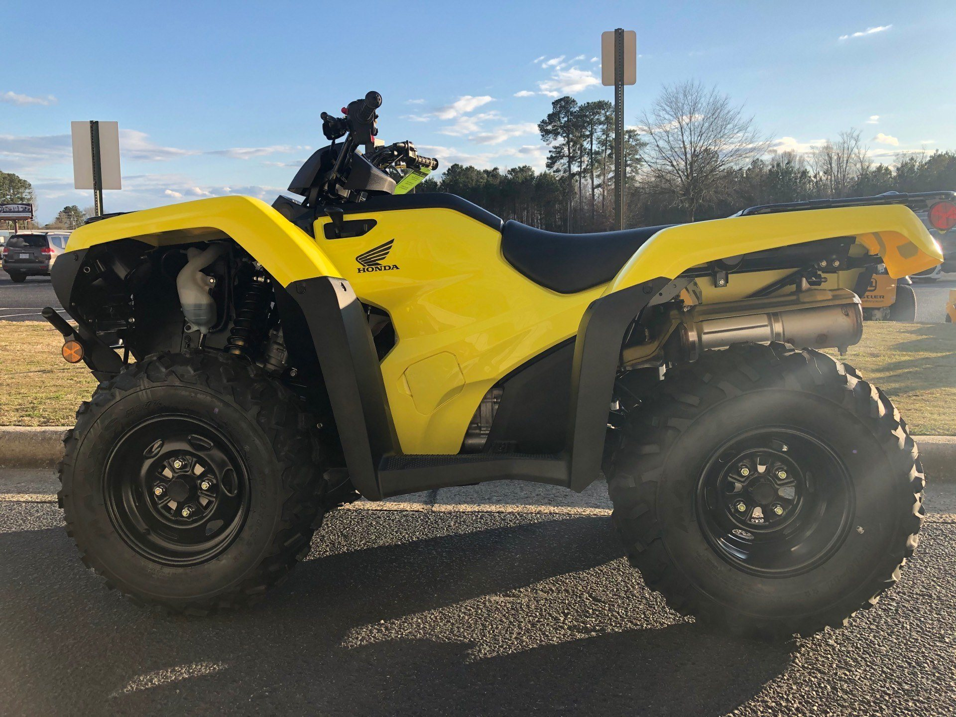 2020 Honda FourTrax Rancher 4x4 Automatic DCT EPS in Greenville, North Carolina - Photo 7