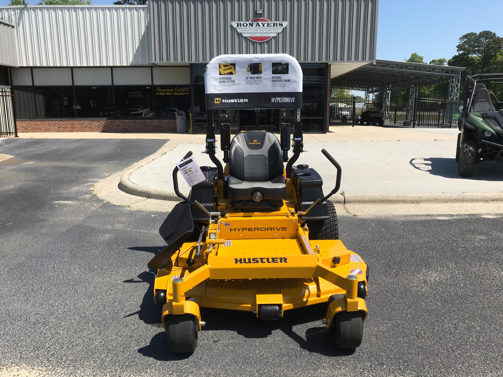 2021 Hustler Turf Equipment Super Z HyperDrive 60 in. Vanguard Big Block EFI 37 hp with Oil Guard in Greenville, North Carolina - Photo 1