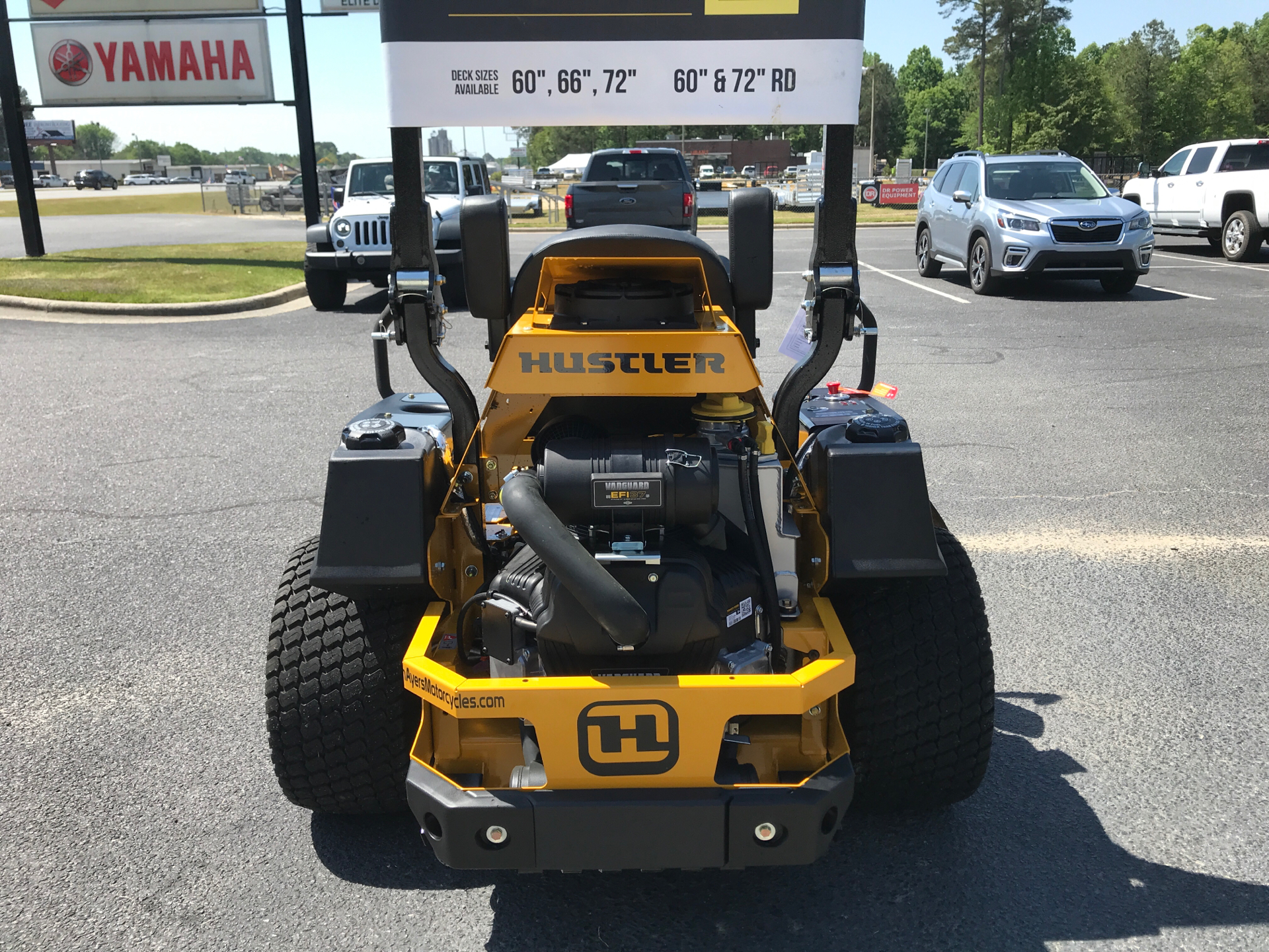 2021 Hustler Turf Equipment Super Z HyperDrive 60 in. Vanguard Big Block EFI 37 hp with Oil Guard in Greenville, North Carolina - Photo 3