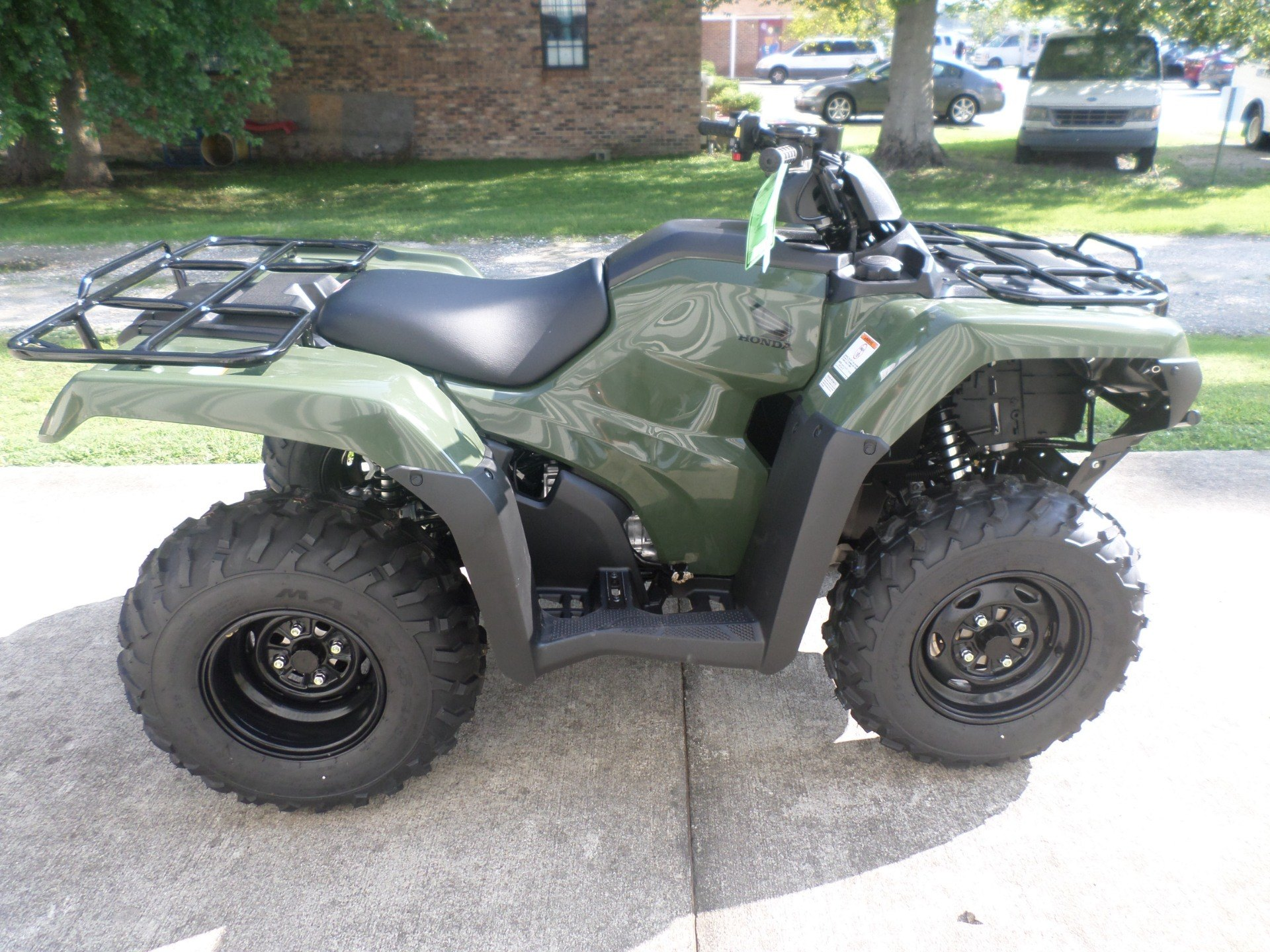 2017 Honda FourTrax Rancher 4x4 in Greenville, North Carolina