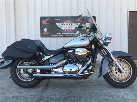 2009 Suzuki Boulevard C50 Special Edition in Greenville, North Carolina