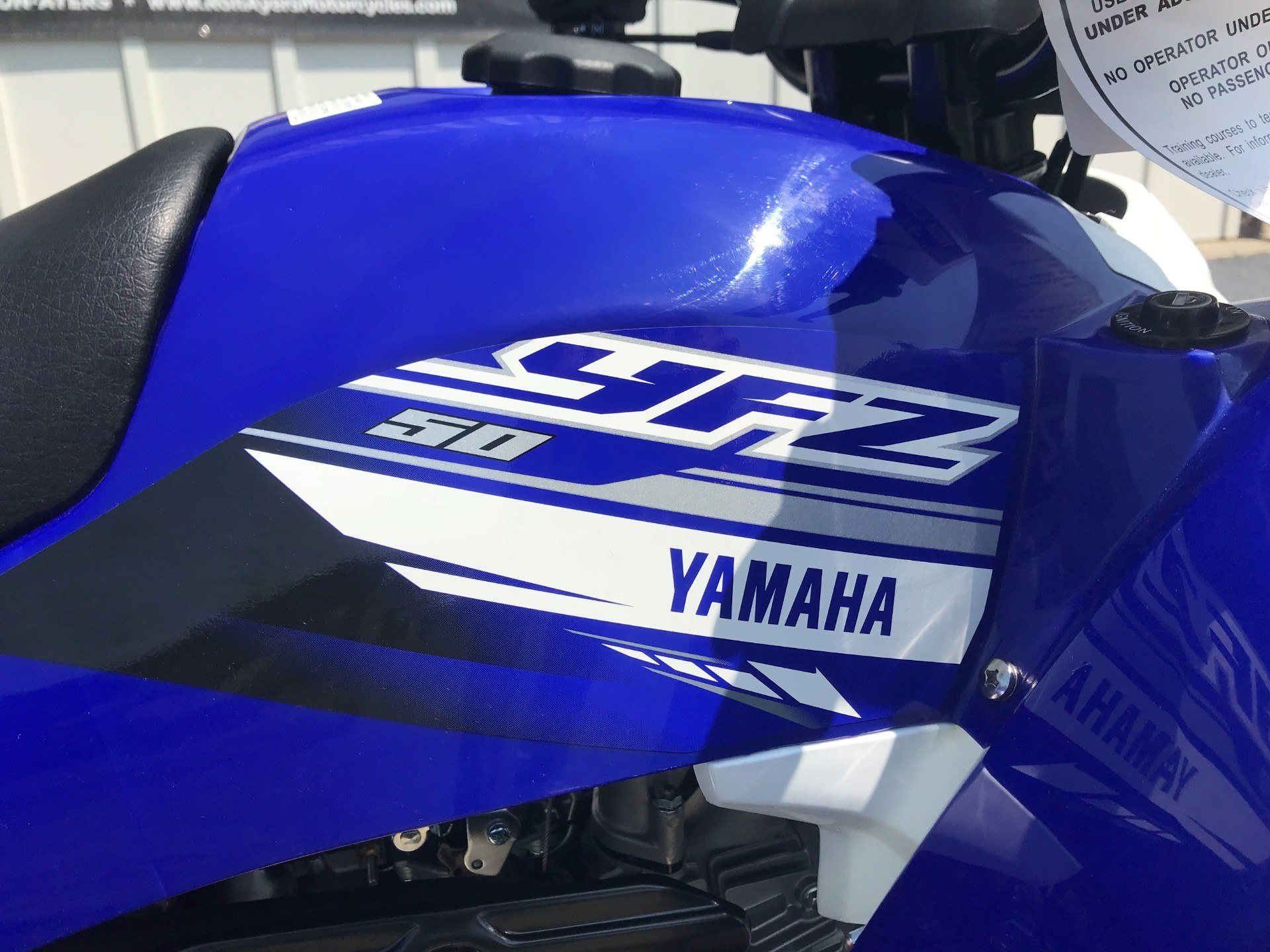 2019 Yamaha YFZ50 in Greenville, North Carolina - Photo 14