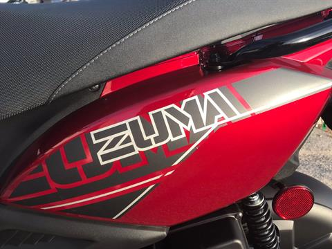 2018 Yamaha Zuma 50F in Greenville, North Carolina