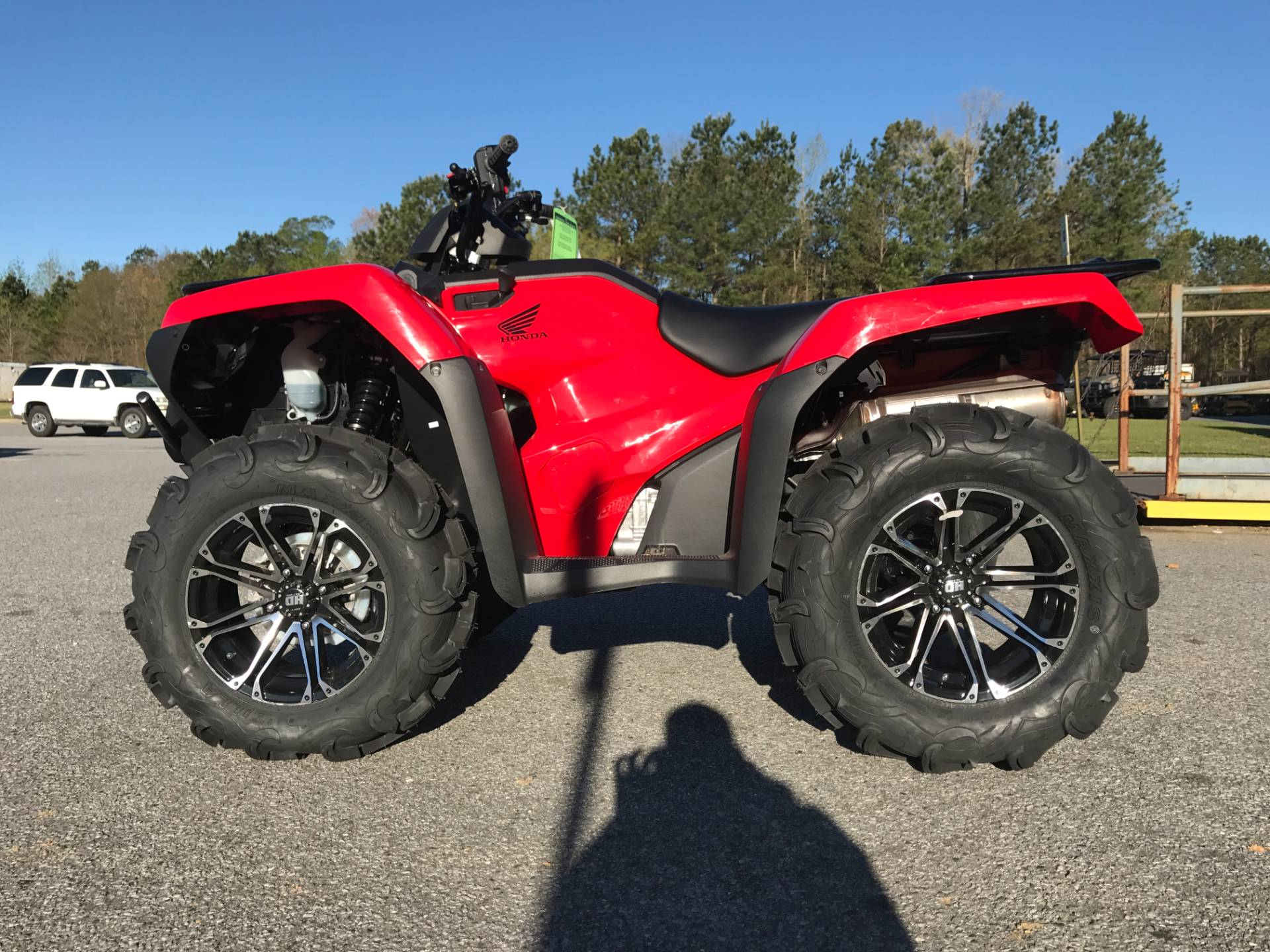 New 2017 Honda FourTrax Rancher 4x4 ES ATVs in Greenville NC