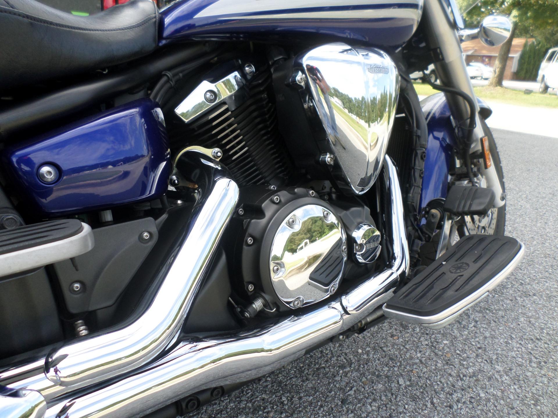 2009 Yamaha V Star 1300 Tourer in Greenville, North Carolina