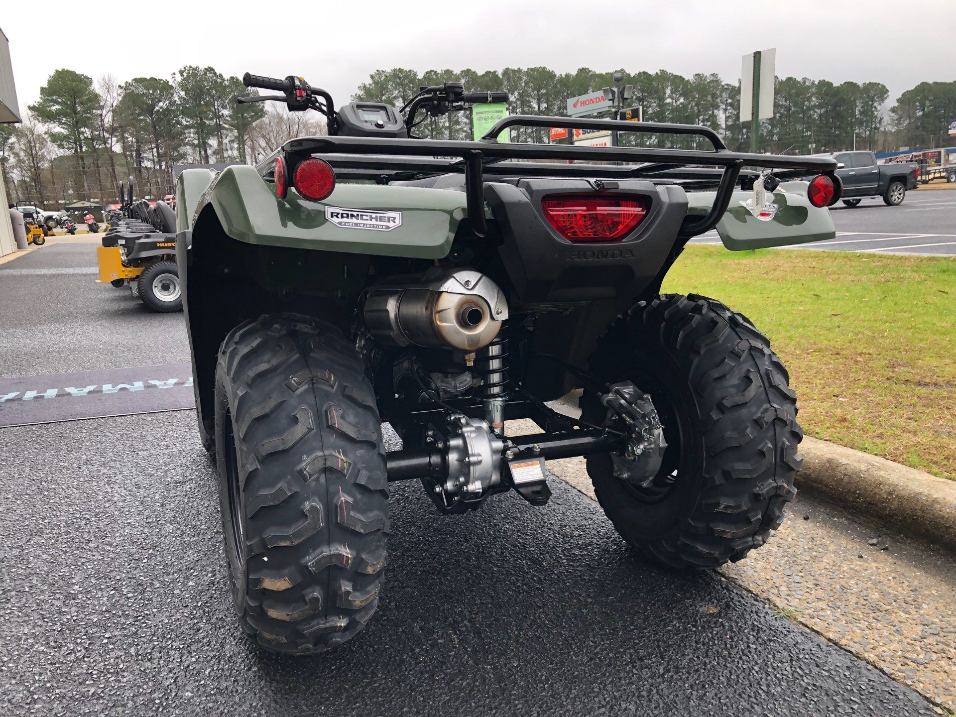 2019 Honda FourTrax Rancher 4x4 in Greenville, North Carolina