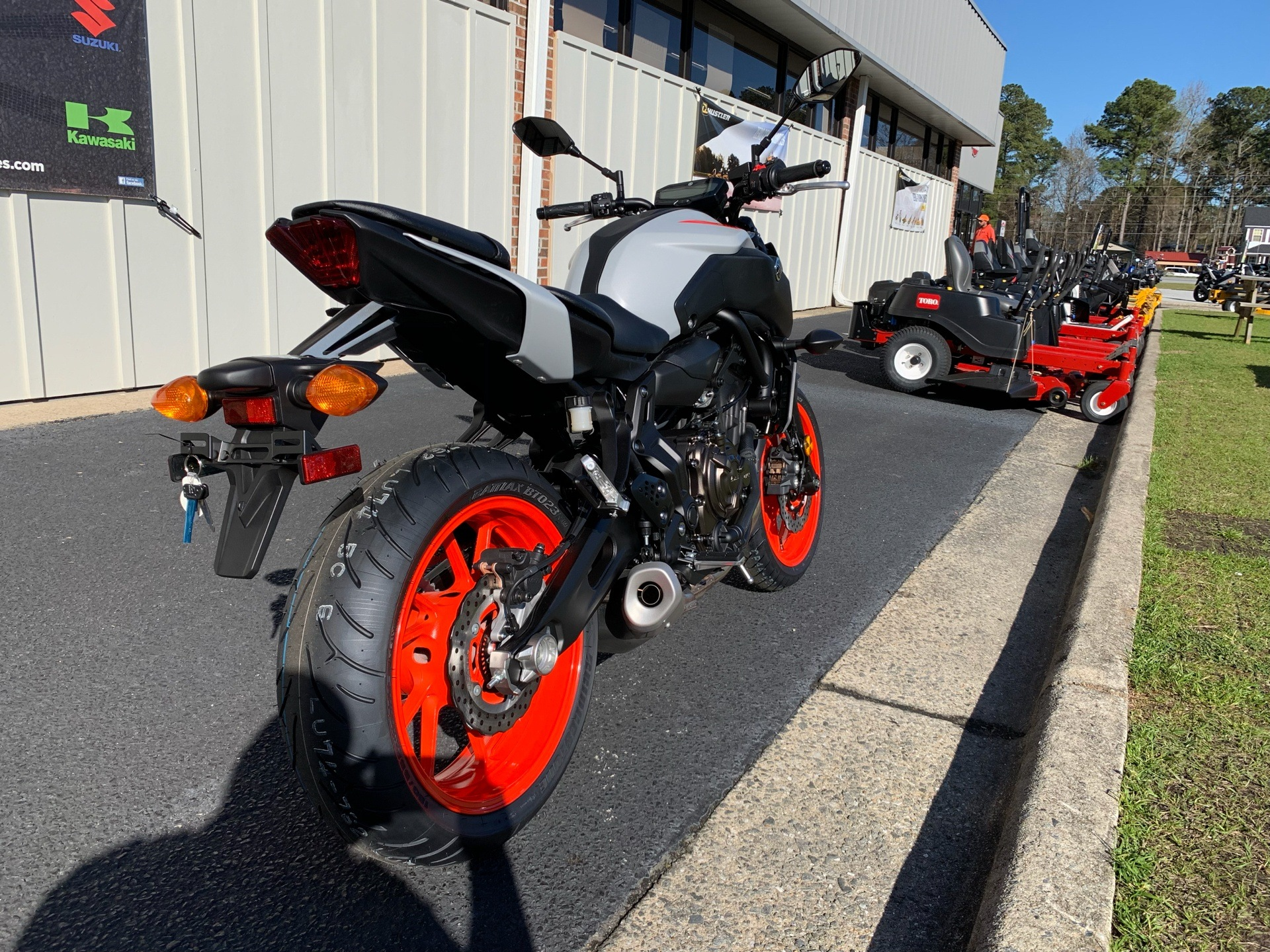 2019 Yamaha MT-07 in Greenville, North Carolina - Photo 11