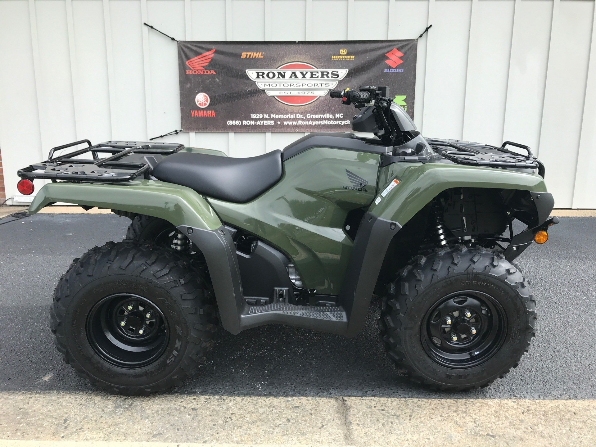 2021 Honda FourTrax Rancher 4x4 in Greenville, North Carolina - Photo 1