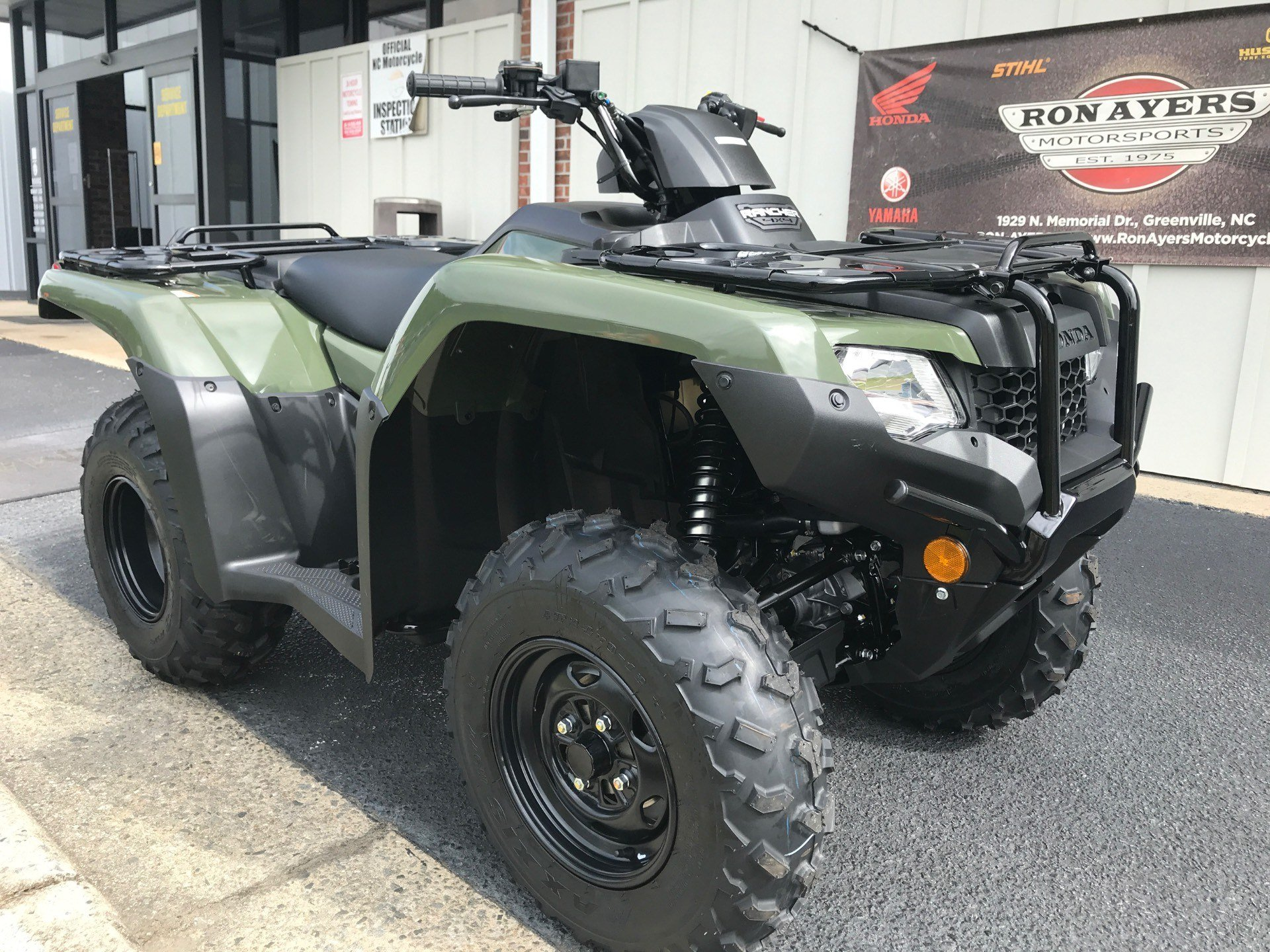 2021 Honda FourTrax Rancher 4x4 in Greenville, North Carolina - Photo 2