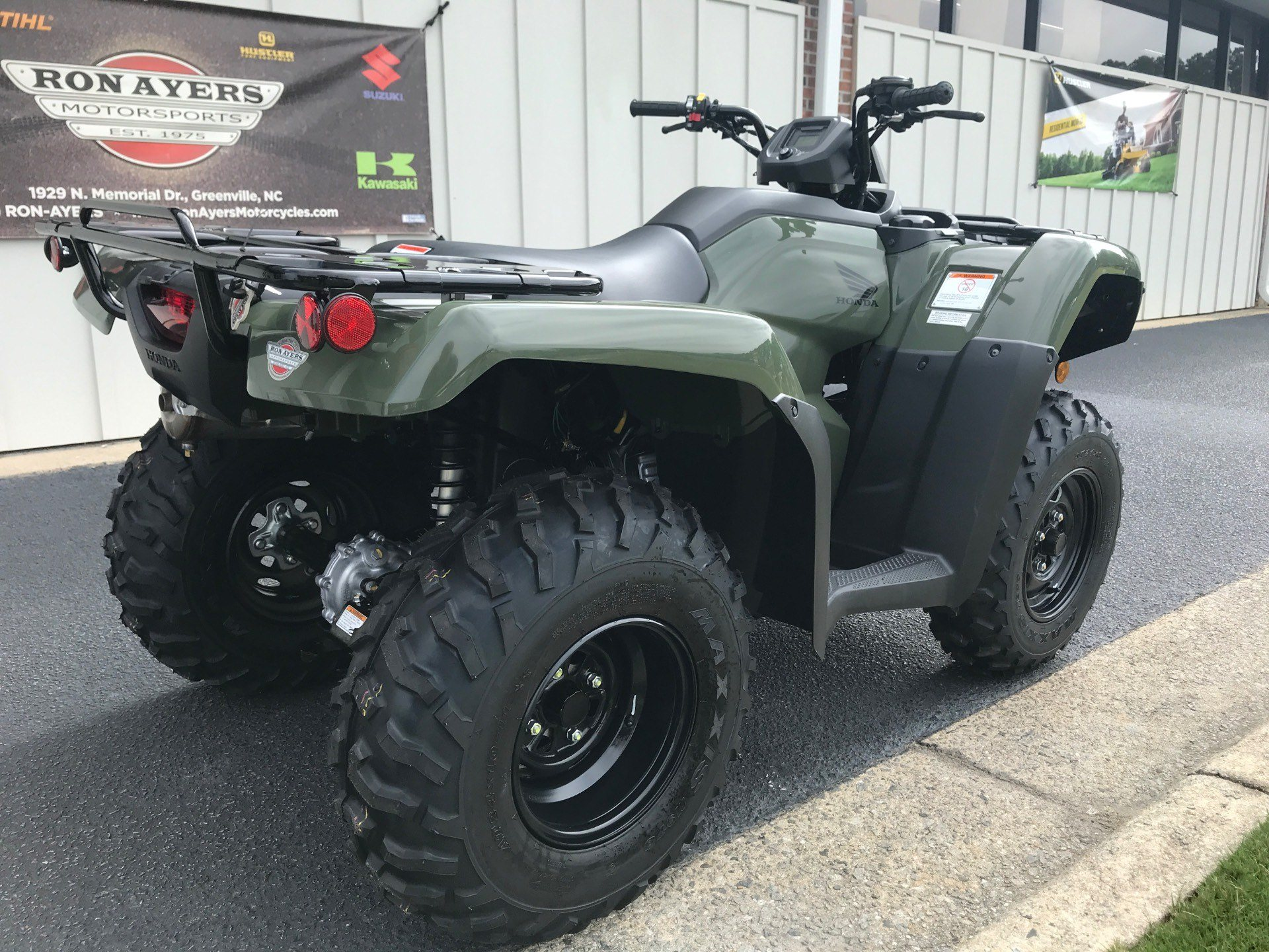 2021 Honda FourTrax Rancher 4x4 in Greenville, North Carolina - Photo 8