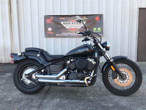 2010 Yamaha V Star 650 Midnight Custom in Greenville, North Carolina