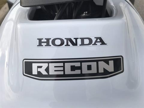 2018 Honda FourTrax Recon in Greenville, North Carolina