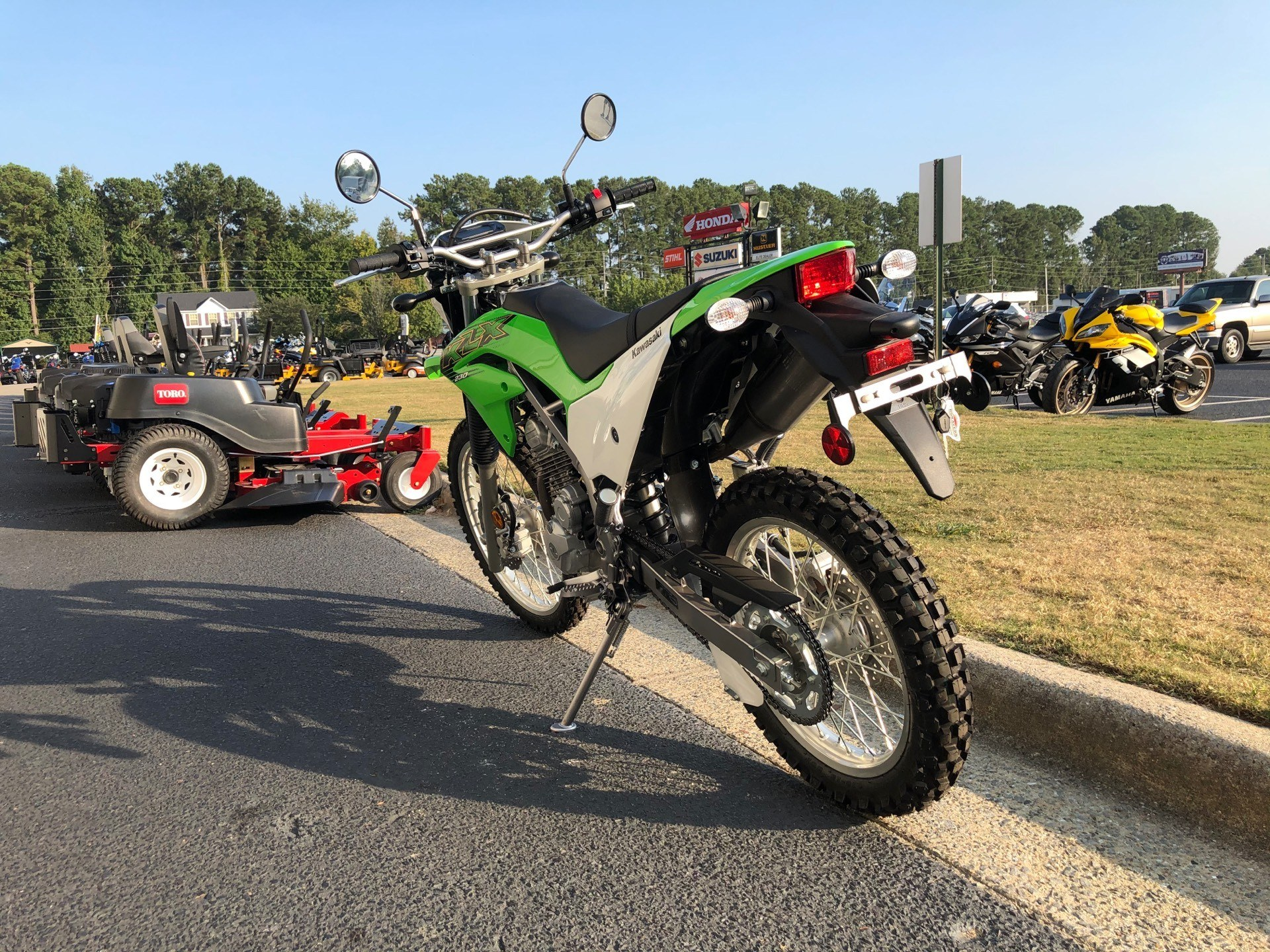 2020 Kawasaki KLX 230 in Greenville, North Carolina - Photo 9