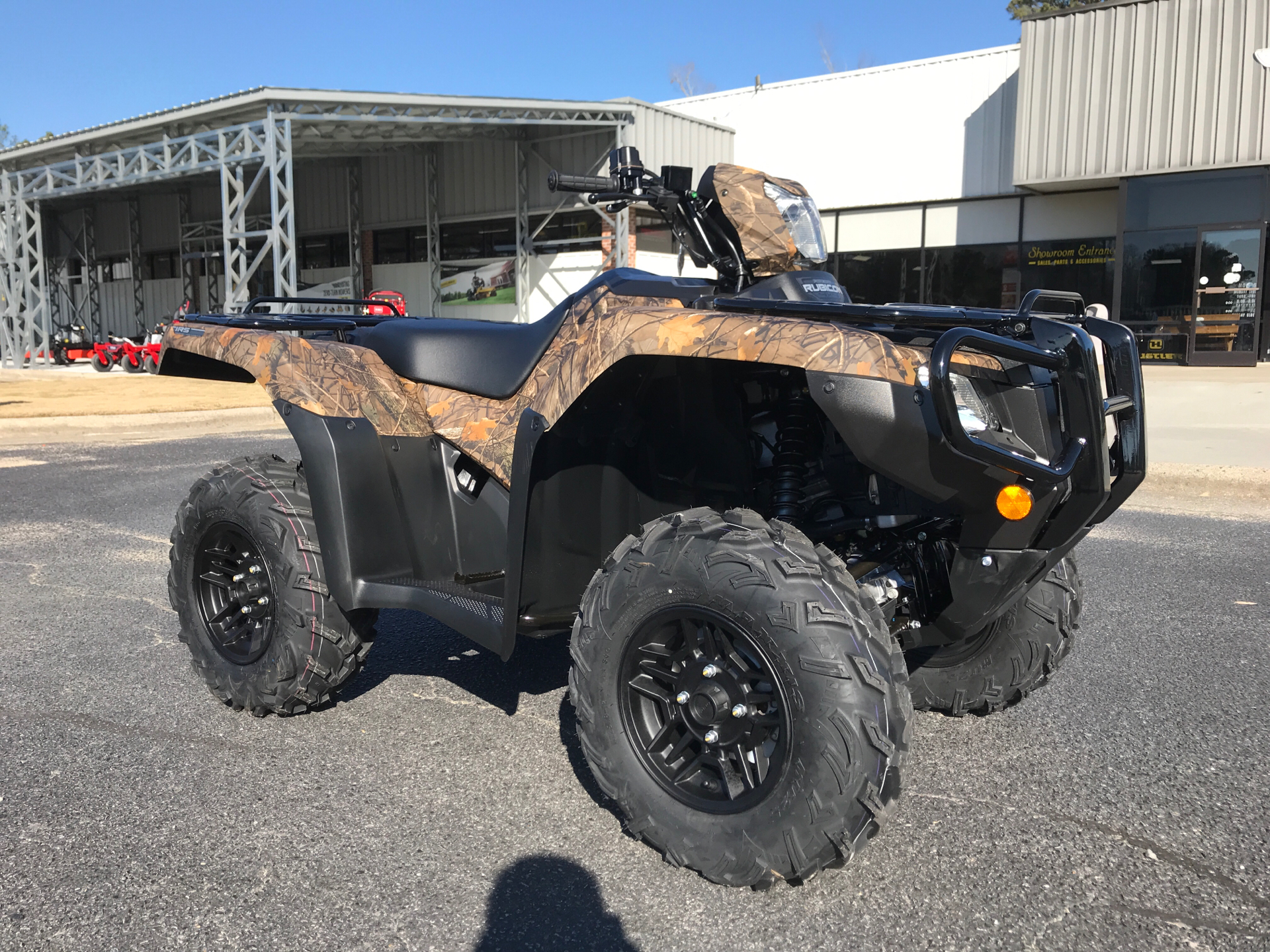 2021 Honda FourTrax Foreman Rubicon 4x4 Automatic DCT EPS Deluxe in Greenville, North Carolina - Photo 2