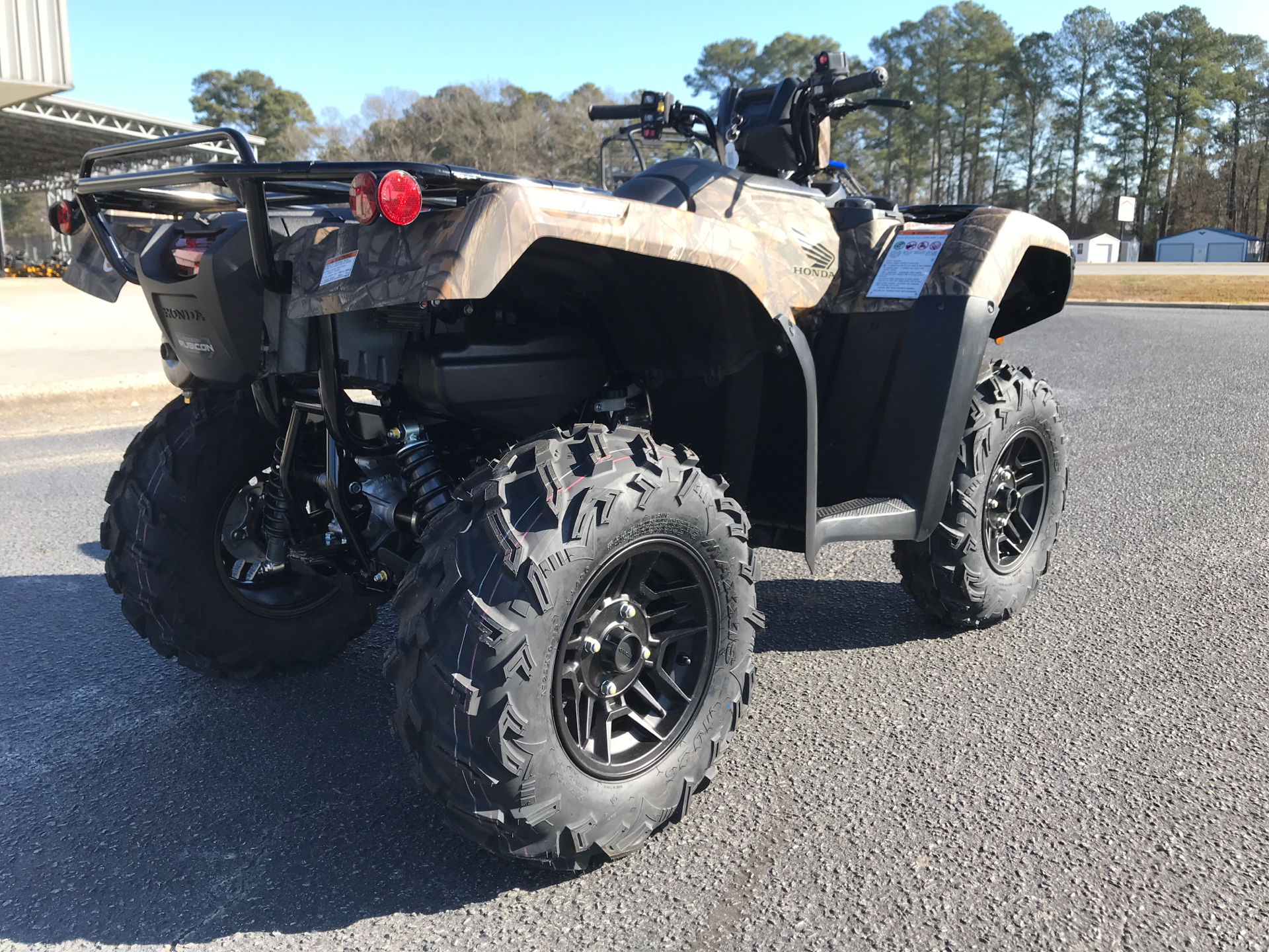 2021 Honda FourTrax Foreman Rubicon 4x4 Automatic DCT EPS Deluxe in Greenville, North Carolina - Photo 8