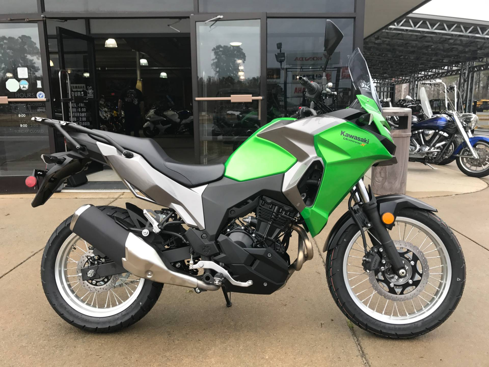 2017 Kawasaki Versys-X 300 in Greenville, North Carolina