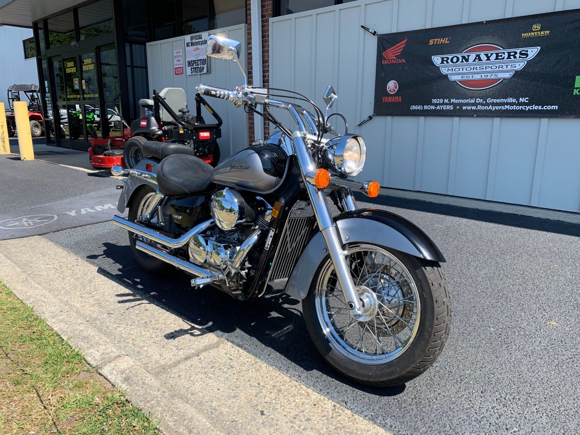 2005 Honda Shadow Aero® 750 in Greenville, North Carolina - Photo 3
