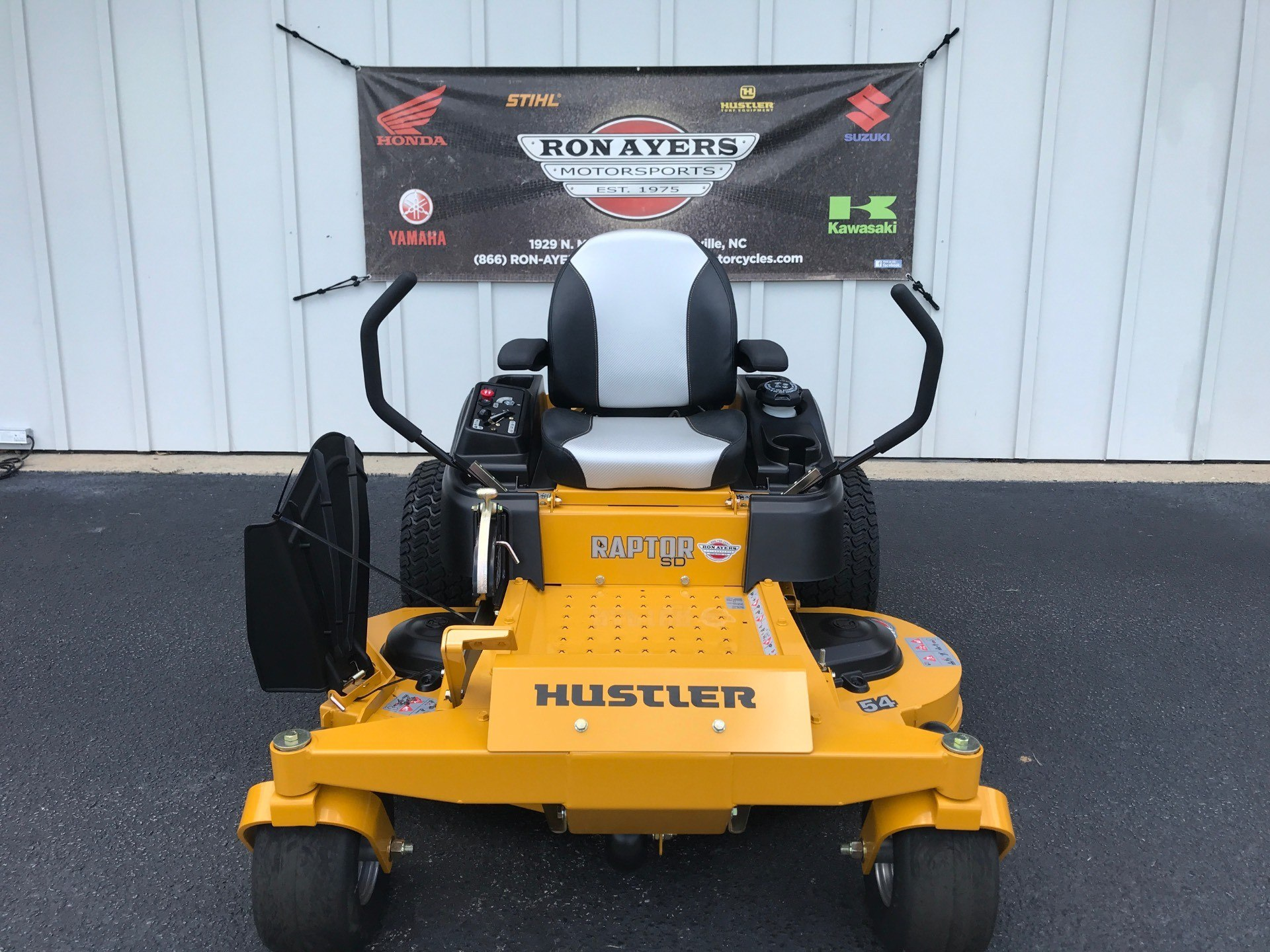 2020 Hustler Turf Equipment Raptor SD 54 in. Kawasaki 23 hp in Greenville, North Carolina - Photo 1