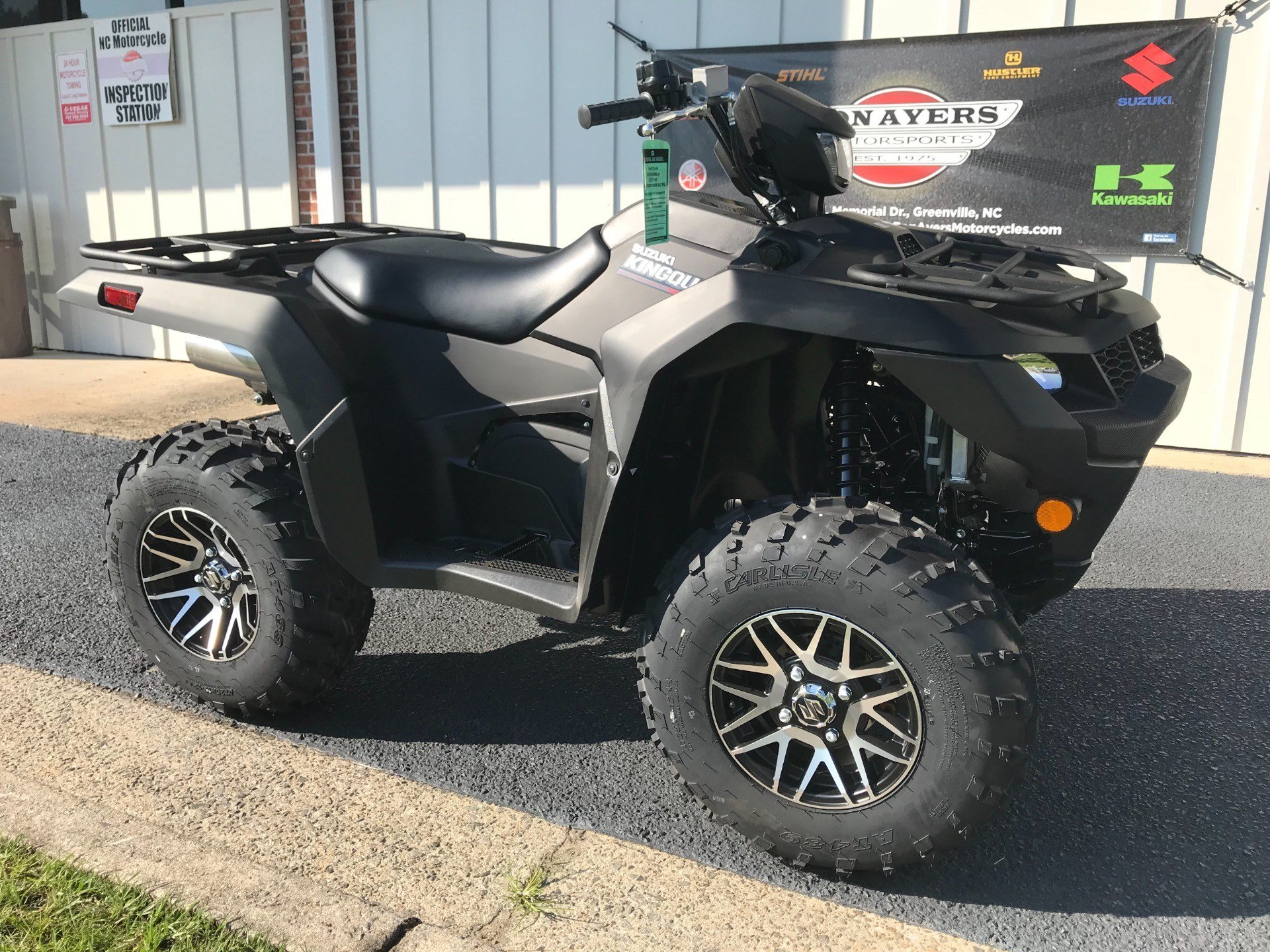 2019 Suzuki KingQuad 750AXi Power Steering SE+ in Greenville, North Carolina - Photo 2