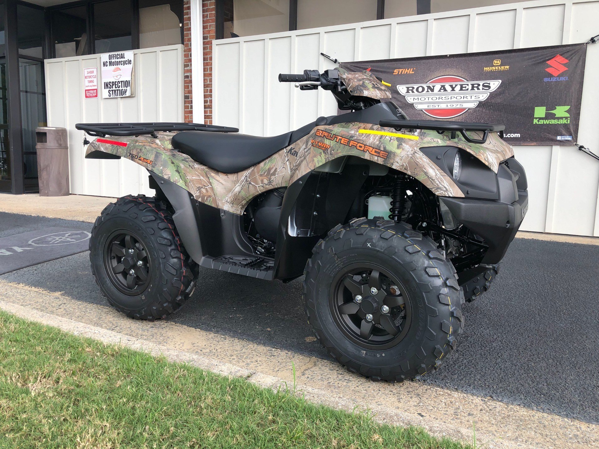 2020 Kawasaki Brute Force 750 4x4i EPS Camo in Greenville, North Carolina - Photo 2