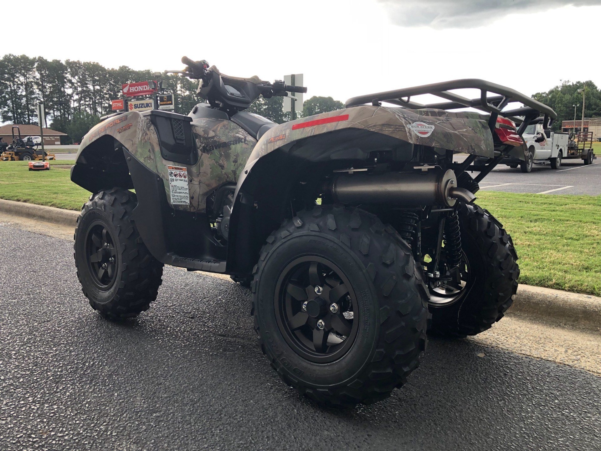 2020 Kawasaki Brute Force 750 4x4i EPS Camo in Greenville, North Carolina - Photo 8