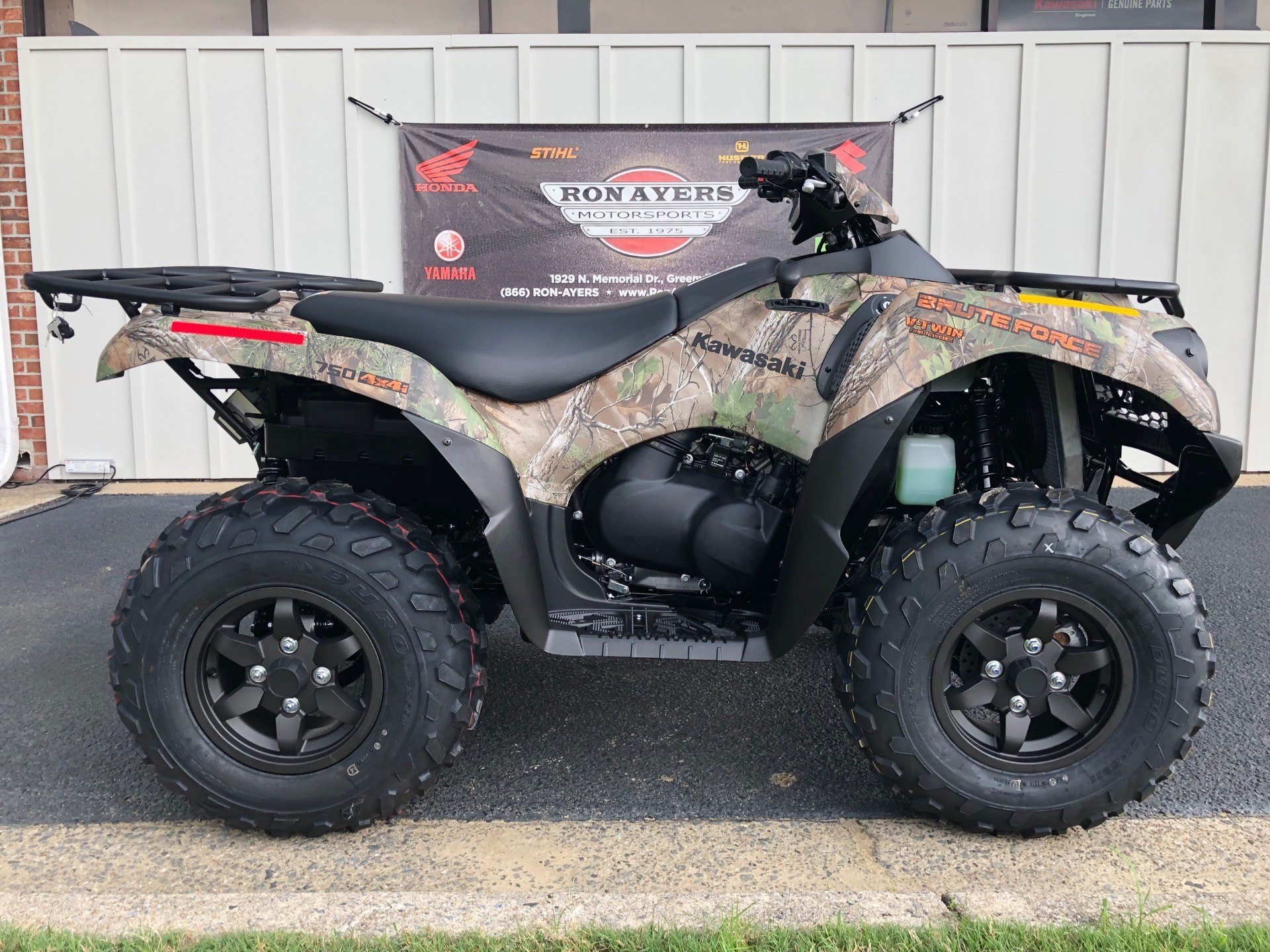 2020 Kawasaki Brute Force 750 4x4i EPS Camo in Greenville, North Carolina - Photo 26