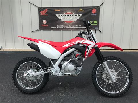 2021 Honda CRF125F (Big Wheel) in Greenville, North Carolina