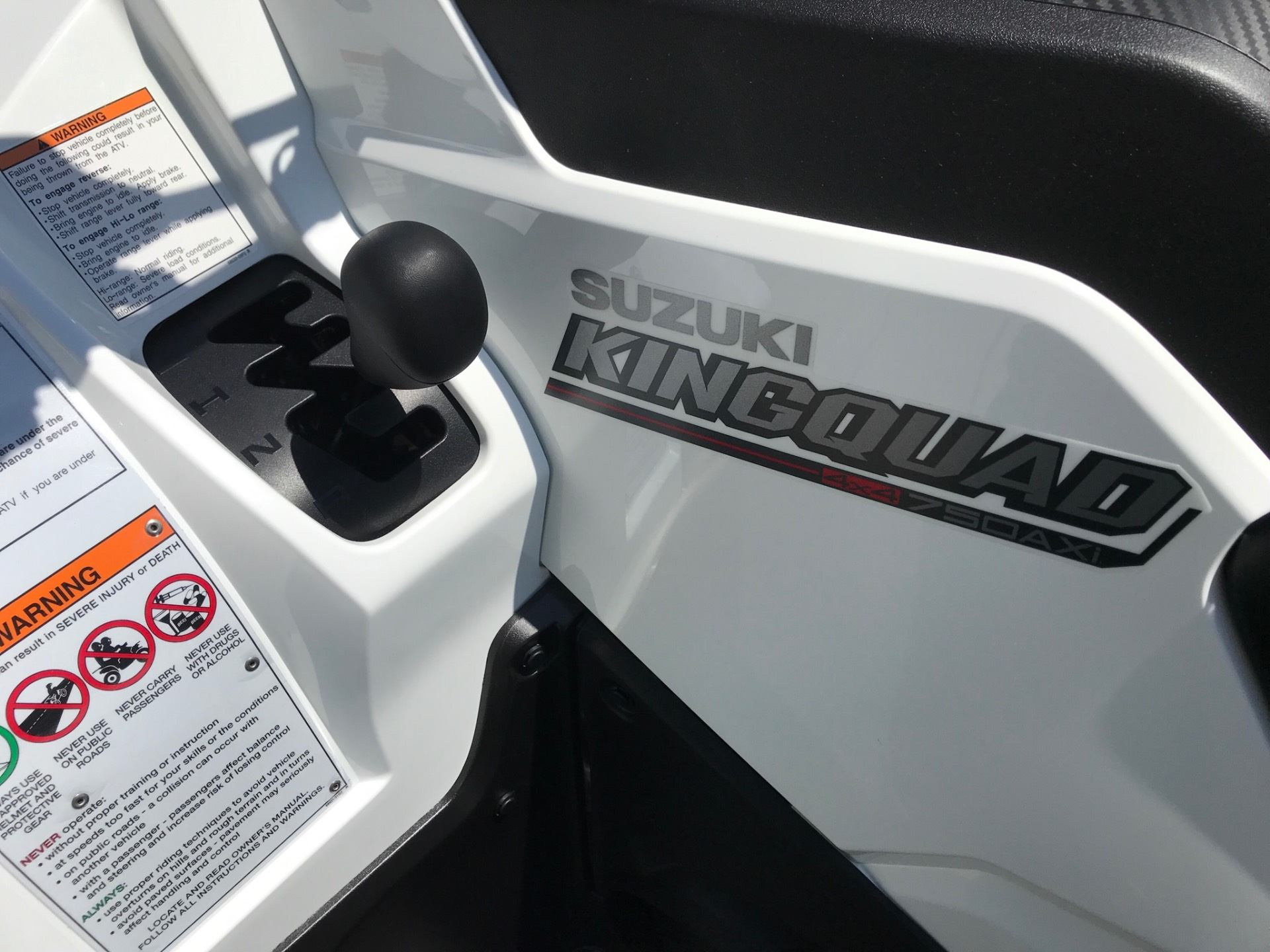 2020 Suzuki KingQuad 750AXi Power Steering SE in Greenville, North Carolina - Photo 15
