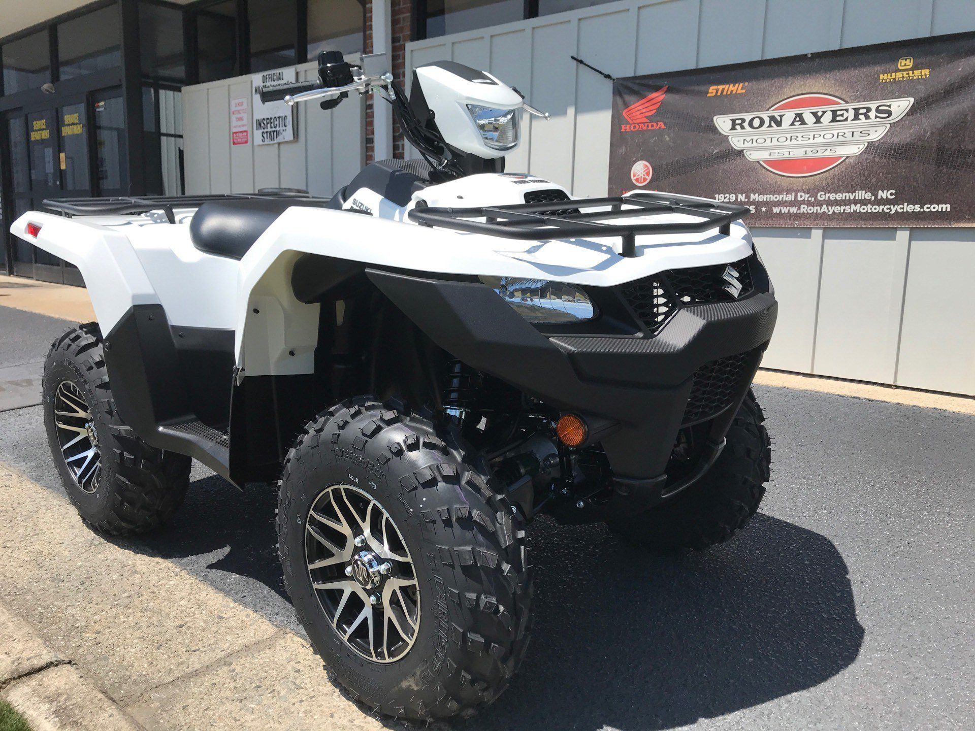 2020 Suzuki KingQuad 750AXi Power Steering SE in Greenville, North Carolina - Photo 2
