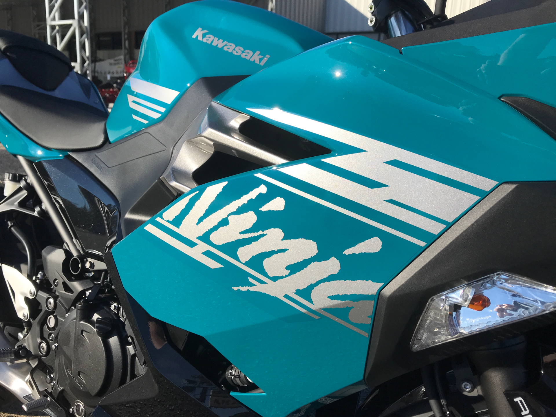 2021 Kawasaki Ninja 400 ABS in Greenville, North Carolina - Photo 11
