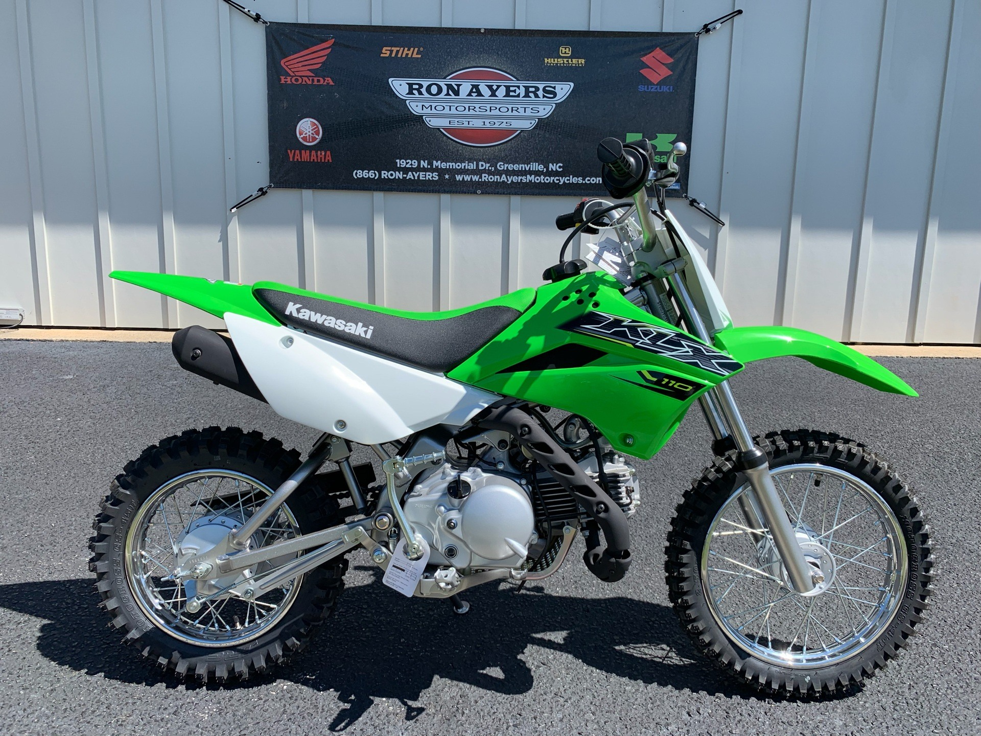 2019 Kawasaki KLX 110 in Greenville, North Carolina - Photo 1