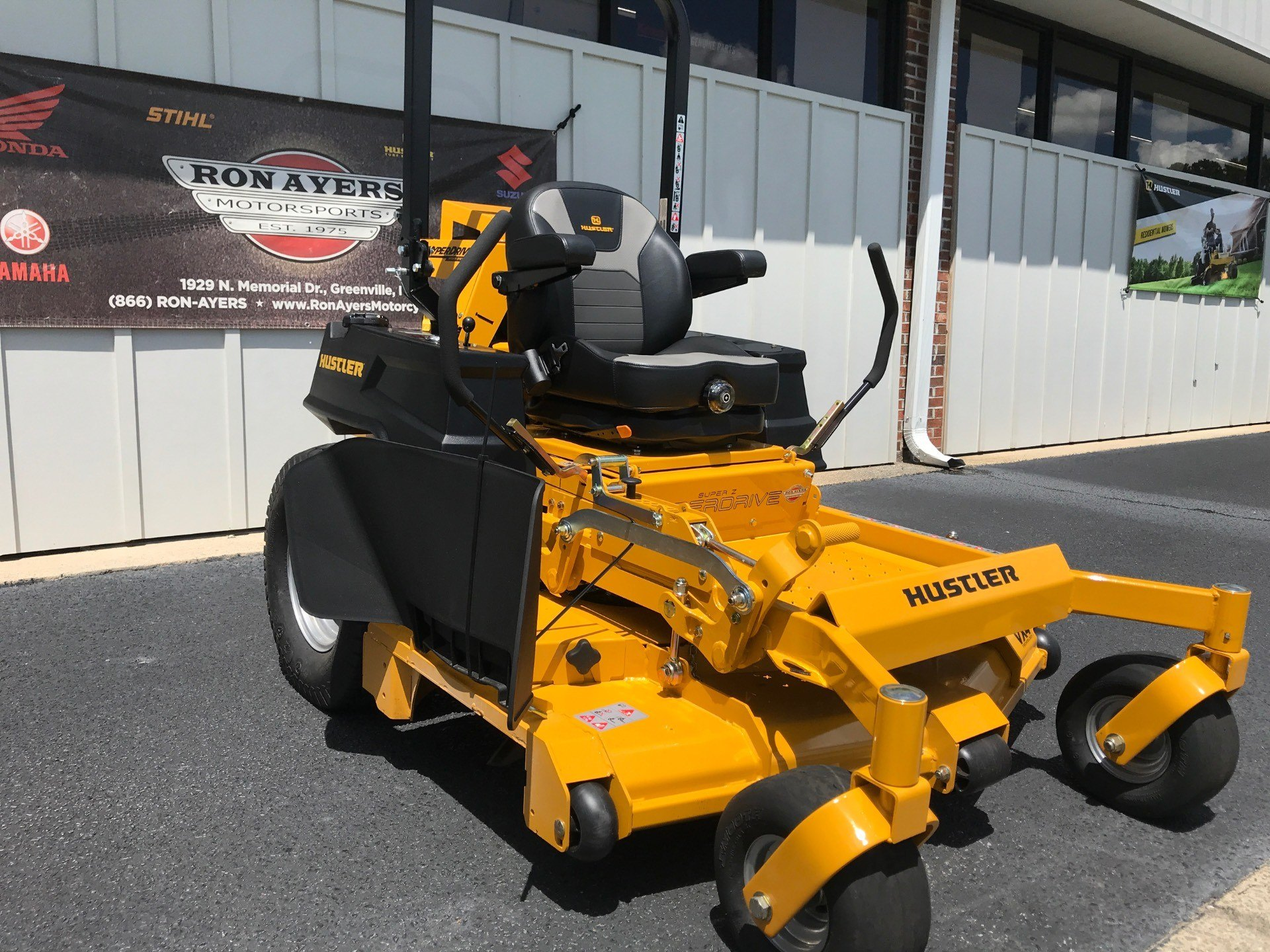 2020 Hustler Turf Equipment Super Z HyperDrive 60 in. Vanguard Big Block EFI 37 hp in Greenville, North Carolina - Photo 6