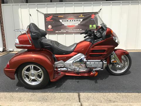 2007 Honda Gold Wing® Premium Audio in Greenville, North Carolina