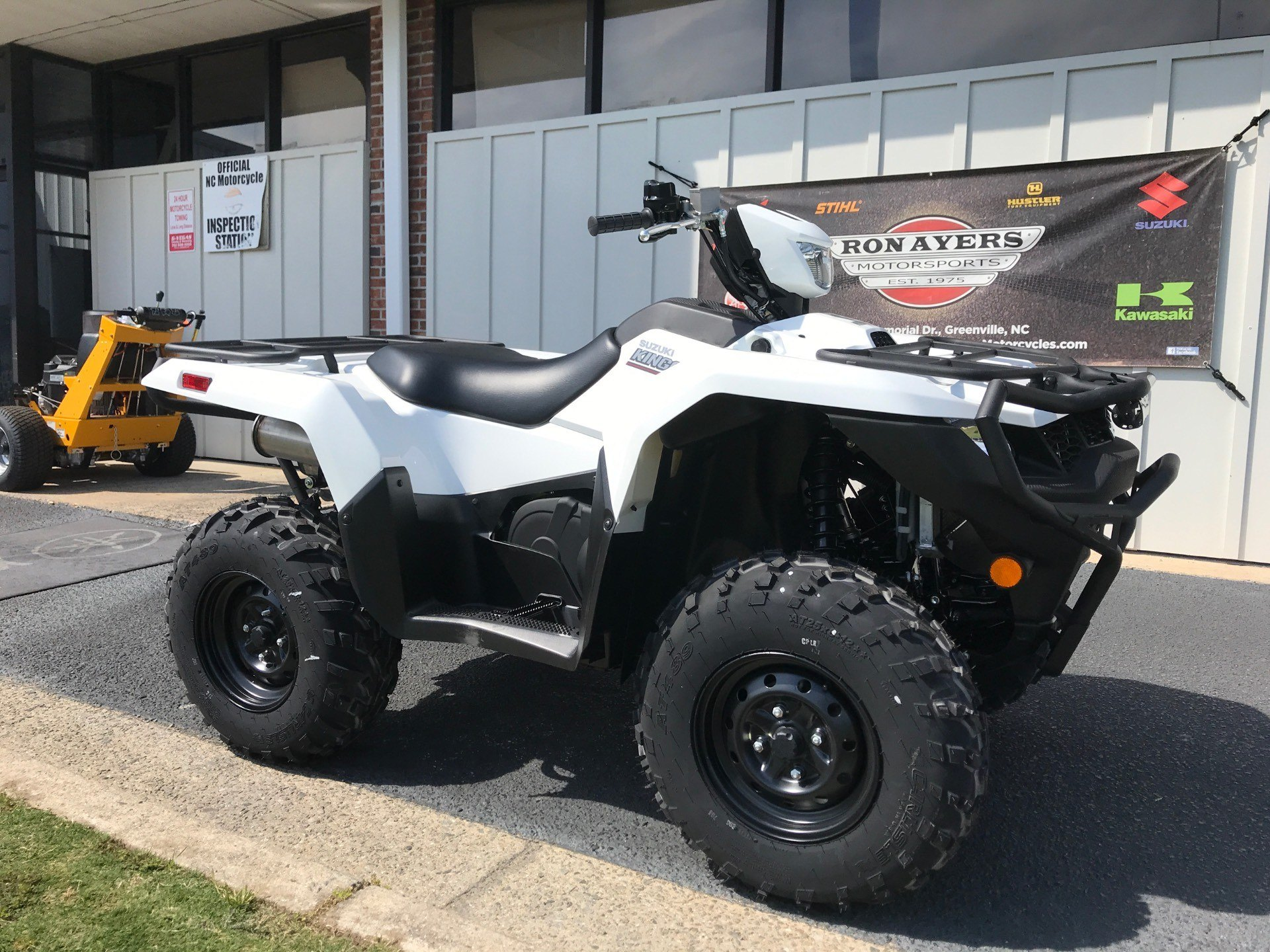 2020 Suzuki KingQuad 500AXi Power Steering with Rugged Package in Greenville, North Carolina - Photo 2