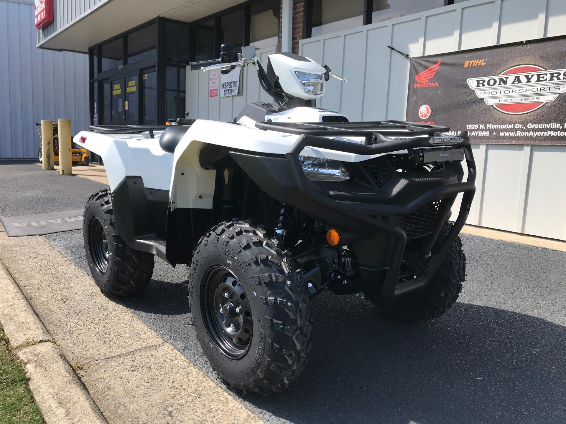 2020 Suzuki KingQuad 500AXi Power Steering with Rugged Package in Greenville, North Carolina - Photo 3