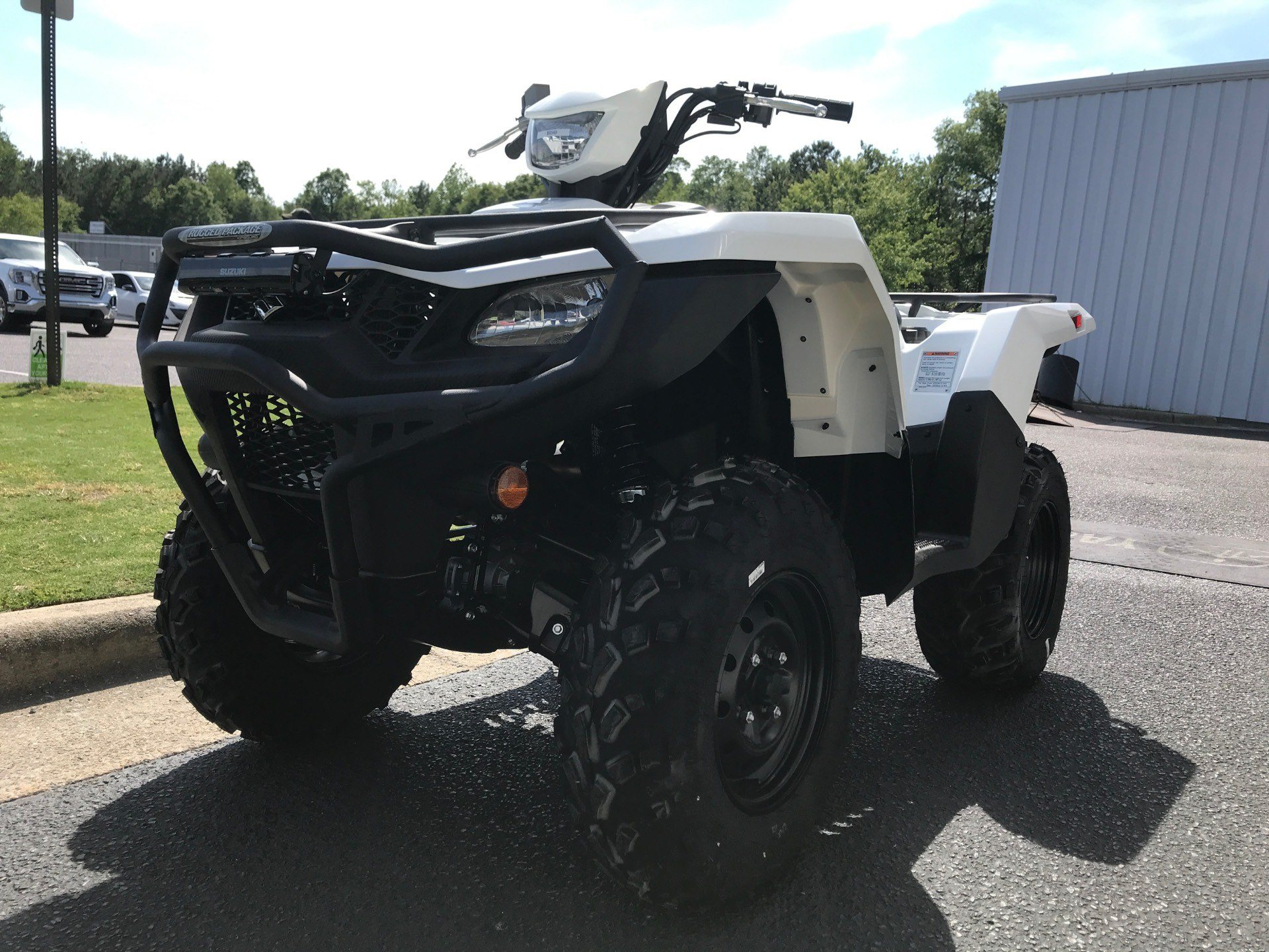 2020 Suzuki KingQuad 500AXi Power Steering with Rugged Package in Greenville, North Carolina - Photo 5