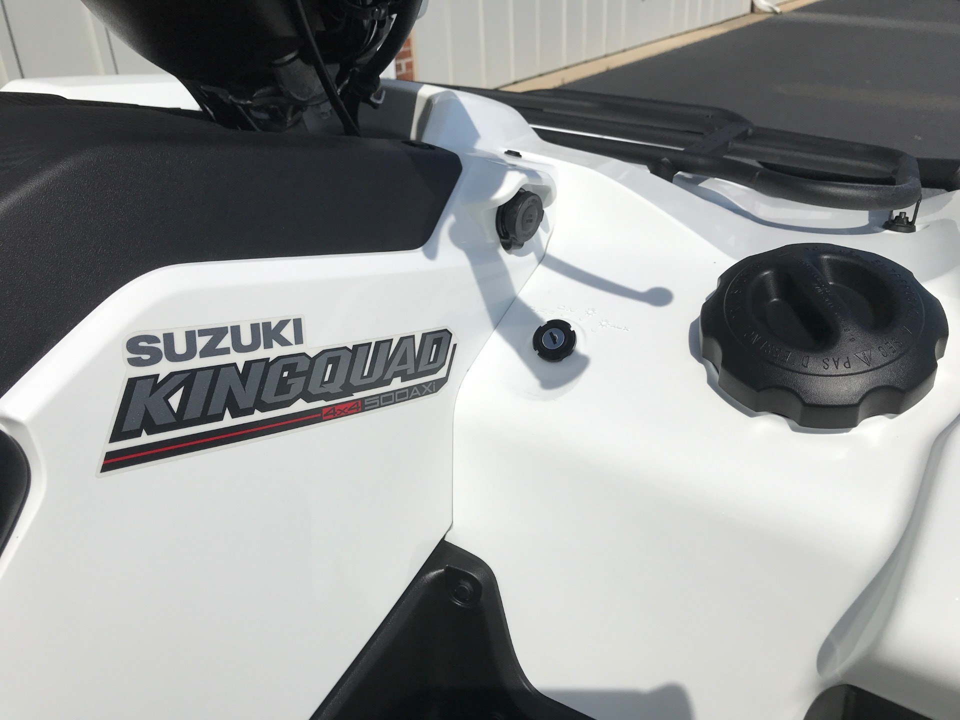 2020 Suzuki KingQuad 500AXi Power Steering with Rugged Package in Greenville, North Carolina - Photo 12