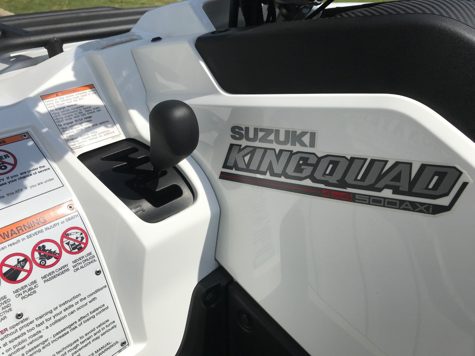 2020 Suzuki KingQuad 500AXi Power Steering with Rugged Package in Greenville, North Carolina - Photo 15